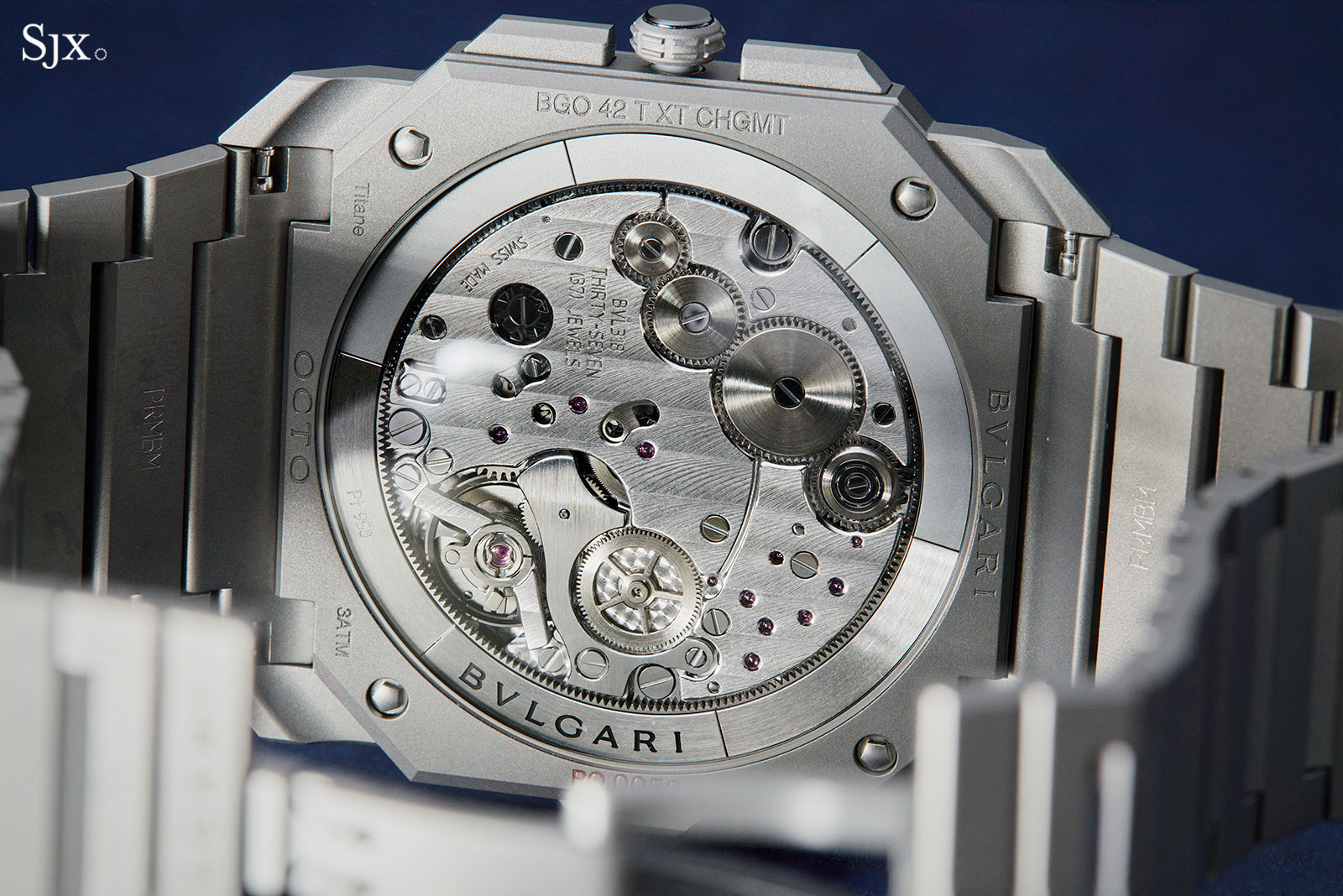 Bulgari Octo Finissimo Chronograph GMT Automatic 9