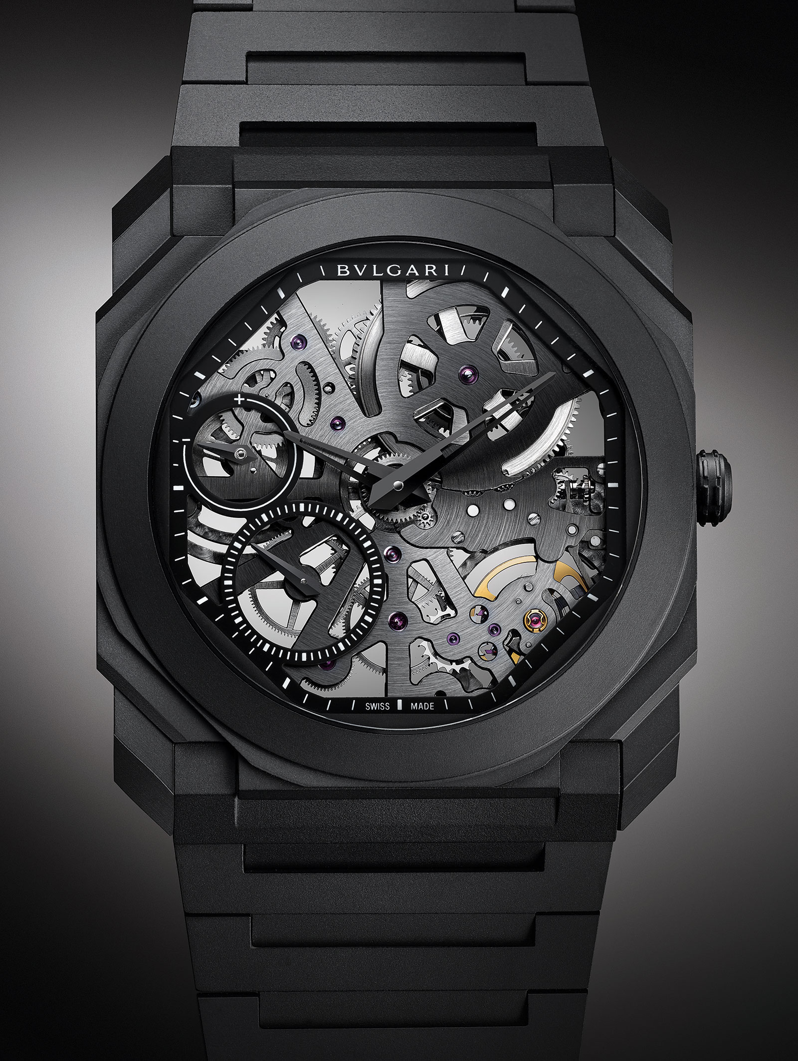 Bulgari Octo Finissimo Skeleton Ceramic black 2