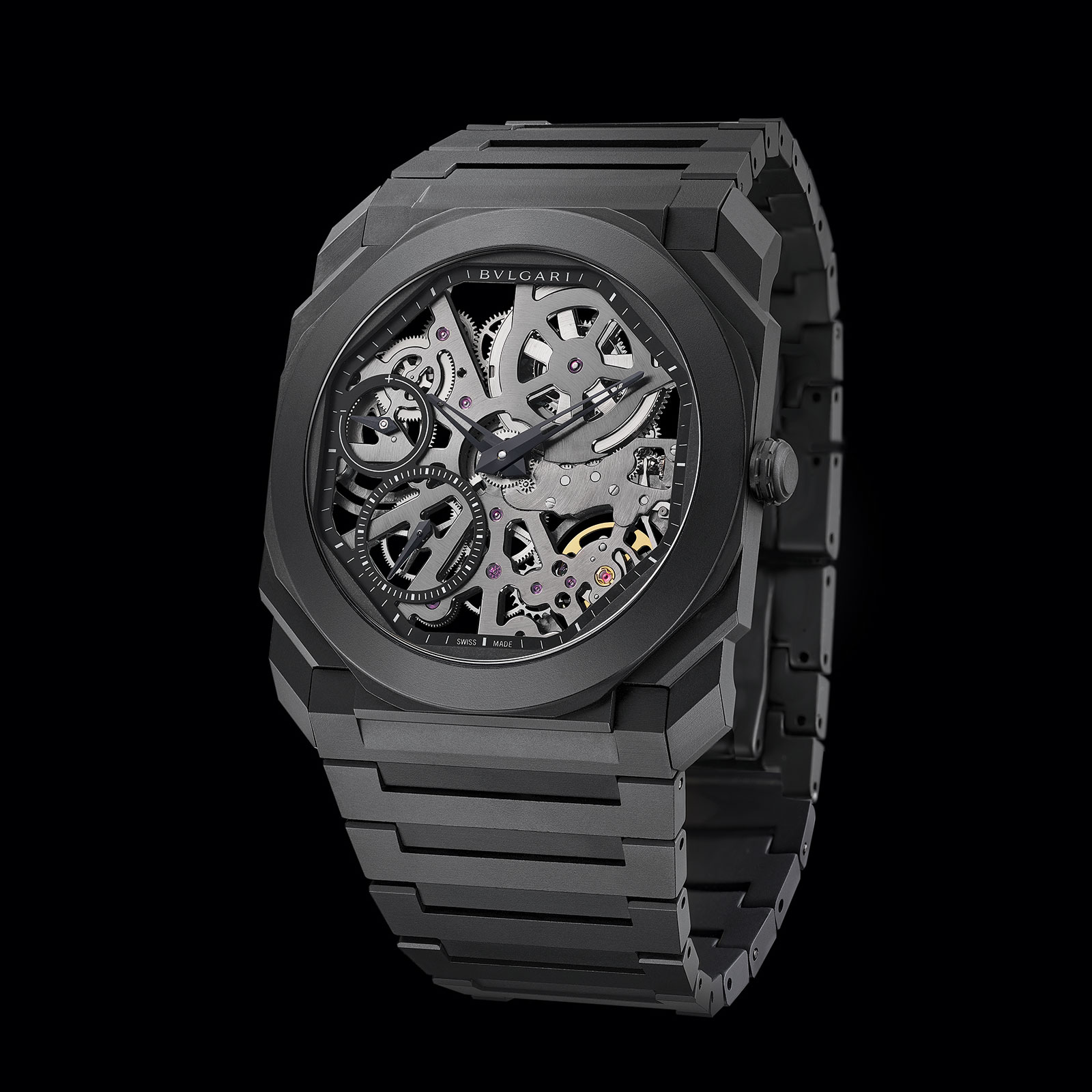 Bulgari Octo Finissimo Skeleton Ceramic black 3