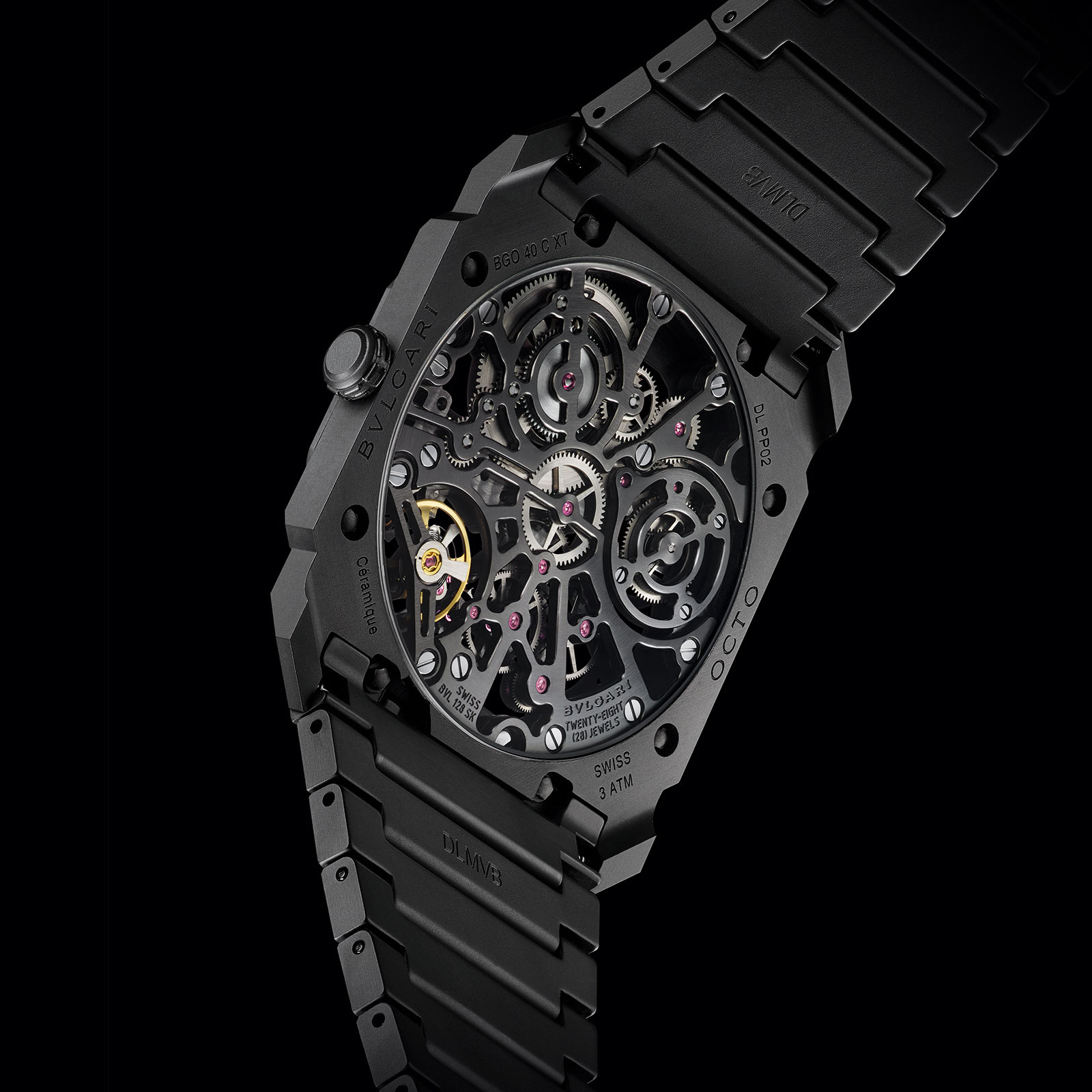 Bulgari Octo Finissimo Skeleton Ceramic black 4