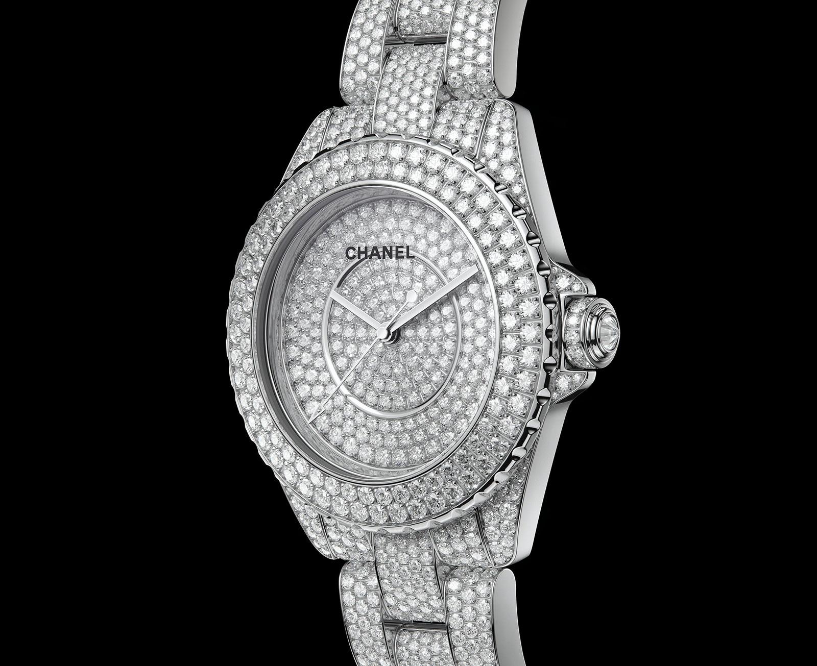 Chanel J12 high jewellery H6159