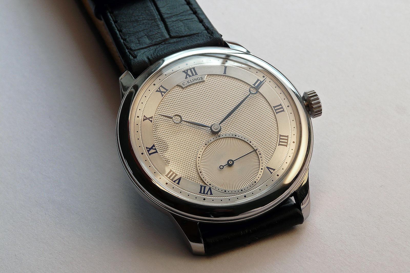 Christian Klings Visibility wristwatch no 5 7