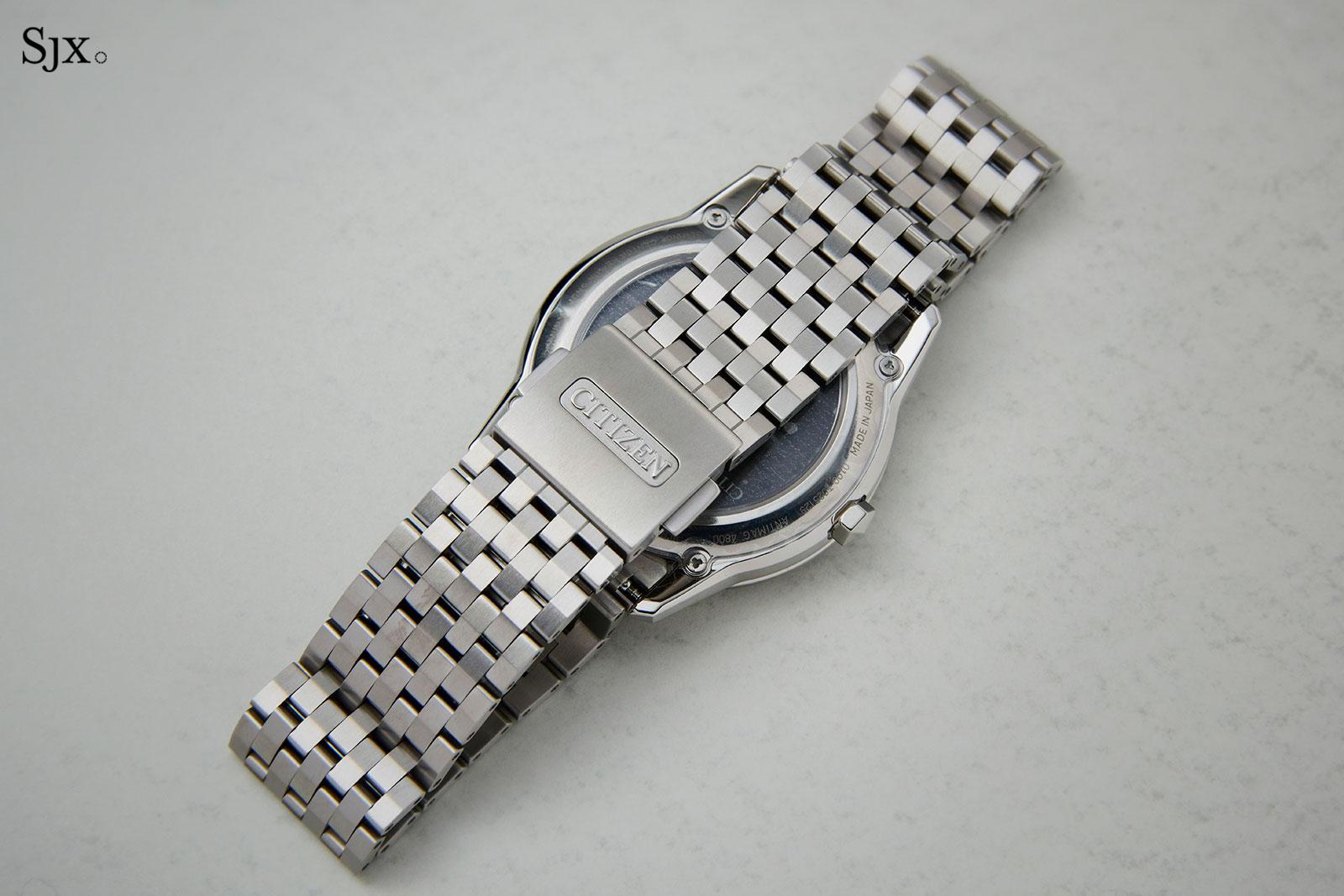 Citizen Caliber 0100 titanium limited edition 2
