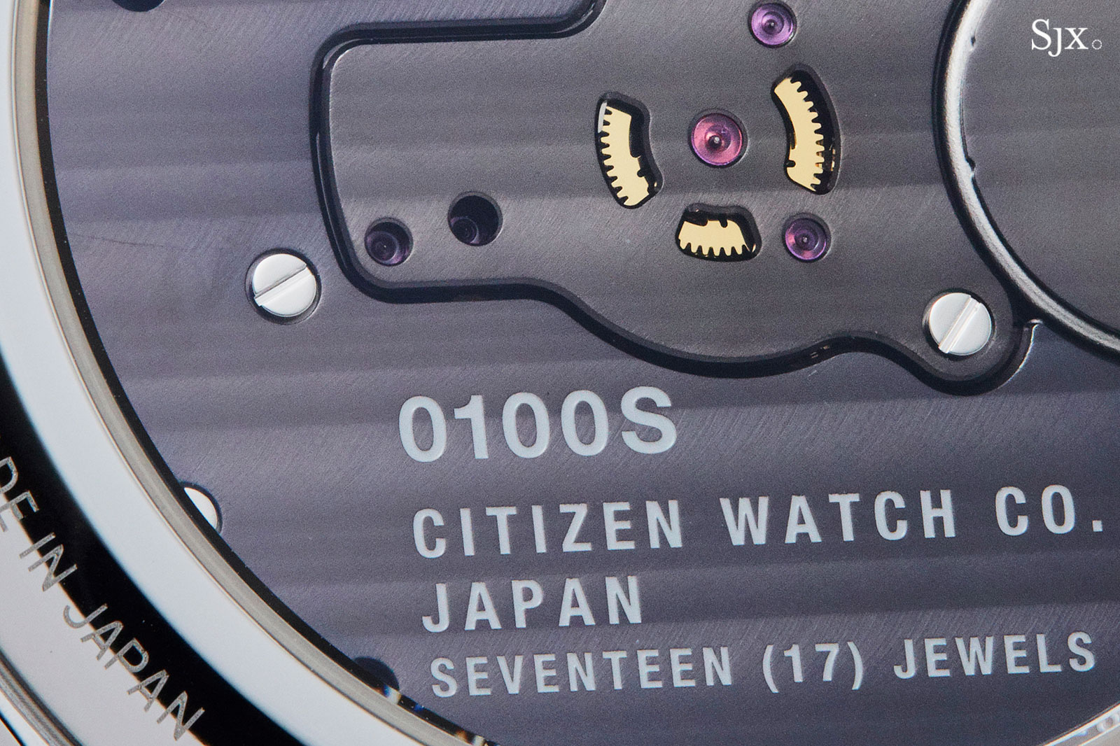 Citizen Caliber 0100 white gold AQ6010-06A-7