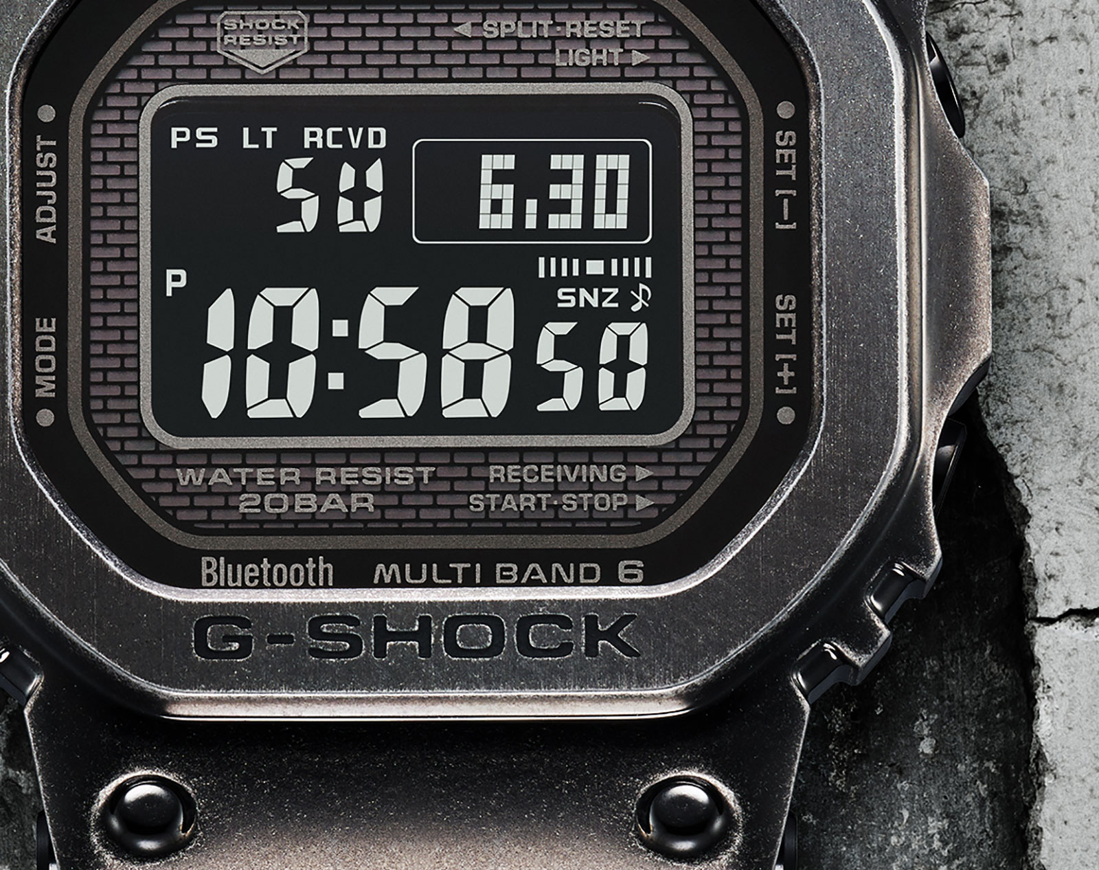 G shock full metal aged IP GMW-B5000V 2