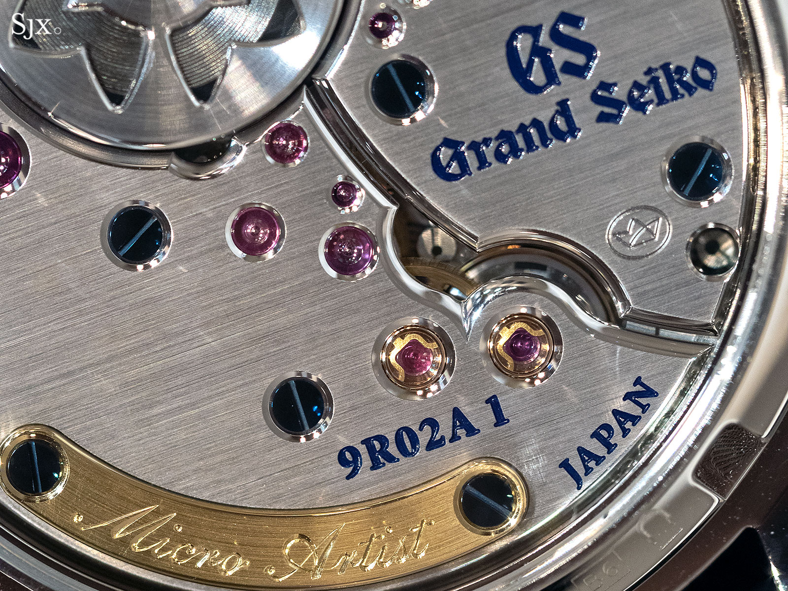Grand Seiko Spring Drive 9R02 movement 9