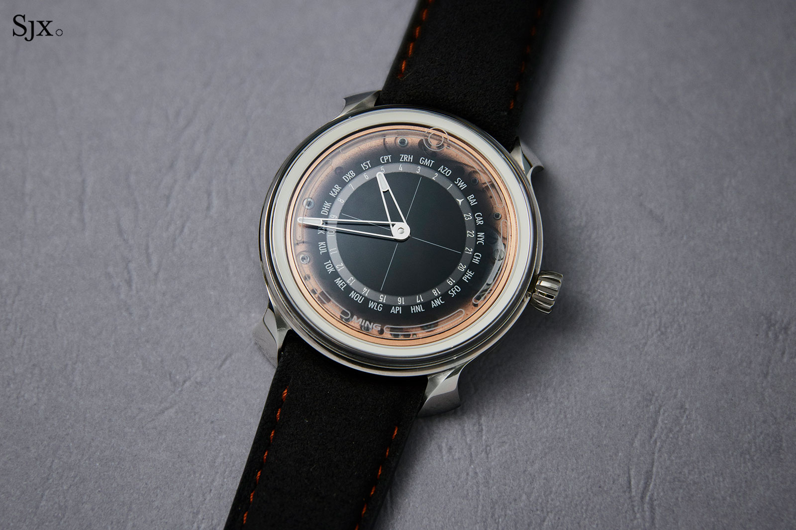 Ming 19.02 worldtimer watch 1