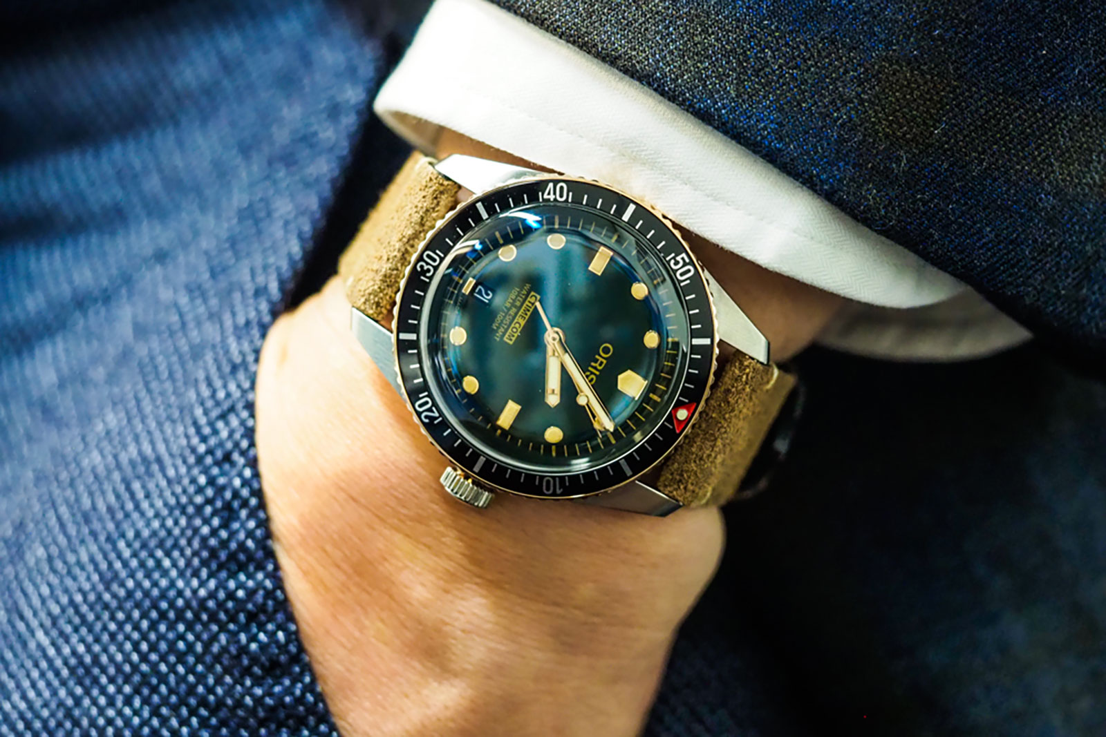 Oris Diver 65 CTIME 6