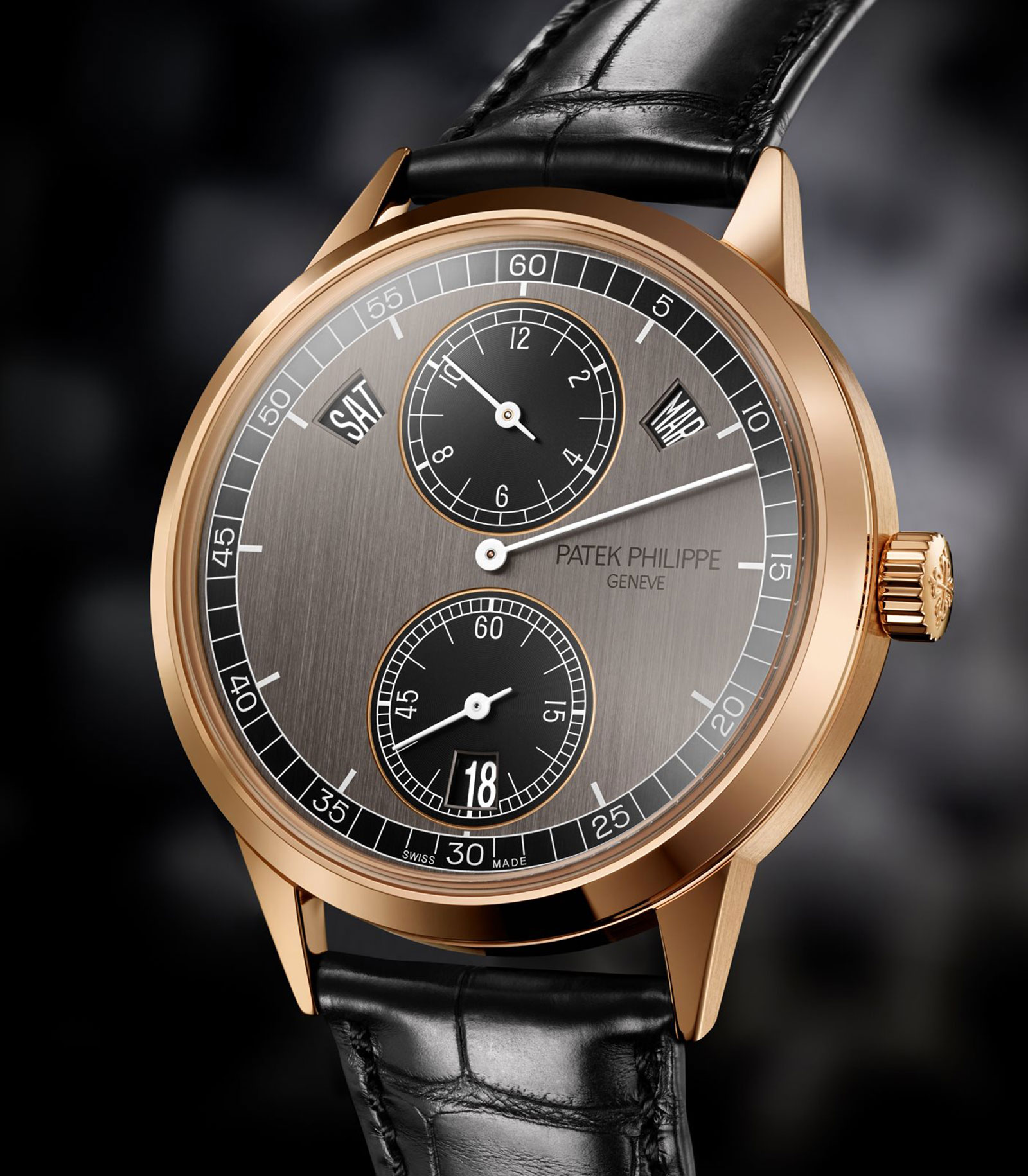 Patek Annual Calendar Regulator rose gold 1