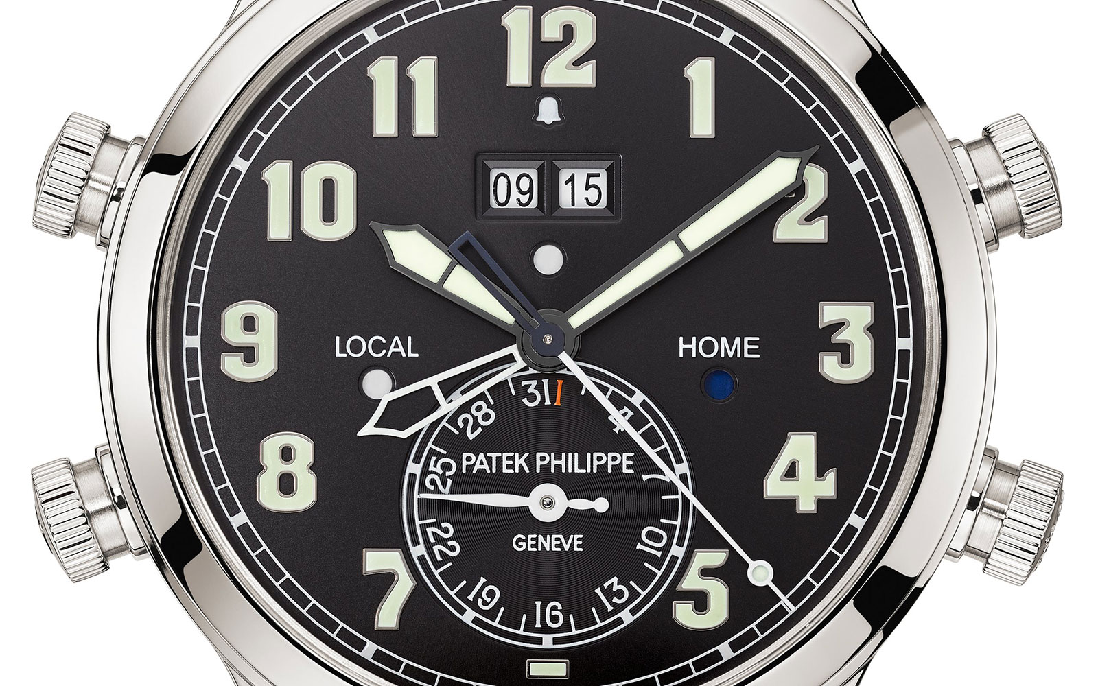 Patek philippe Ref. 5520P Alarm Travel Time 8