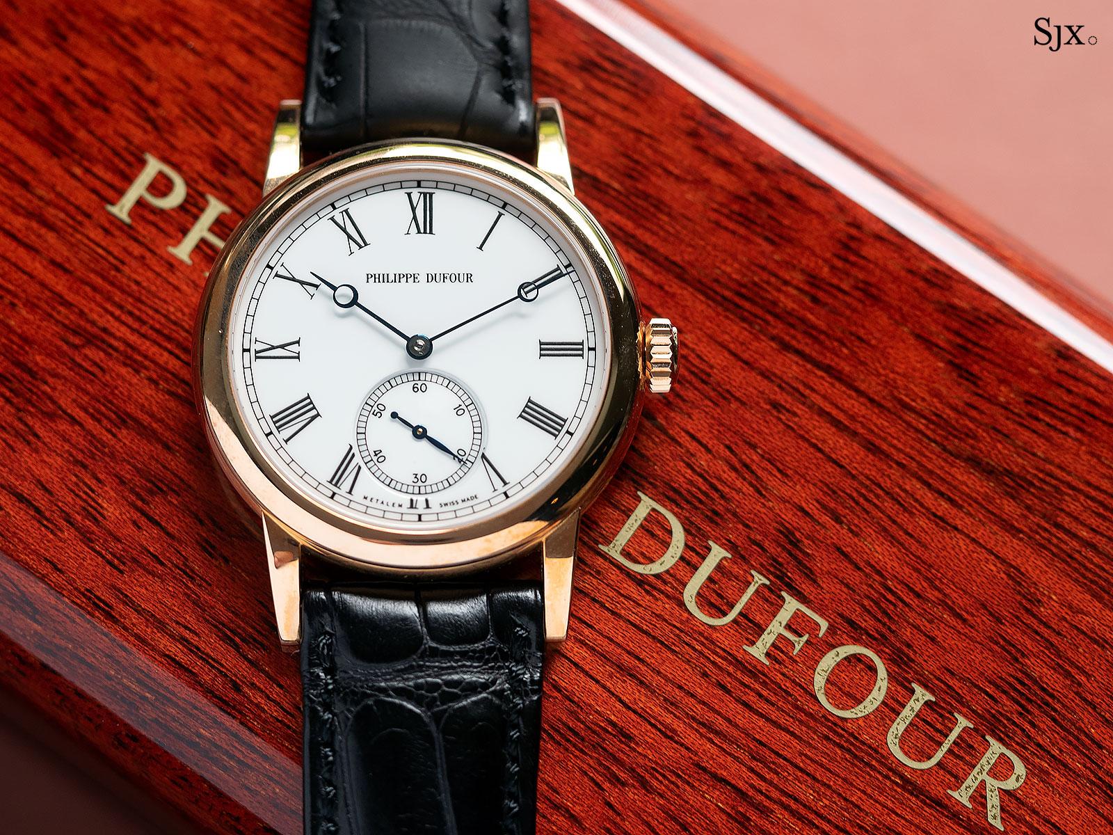Philippe Dufour Simplicity no 180 Phillips 9