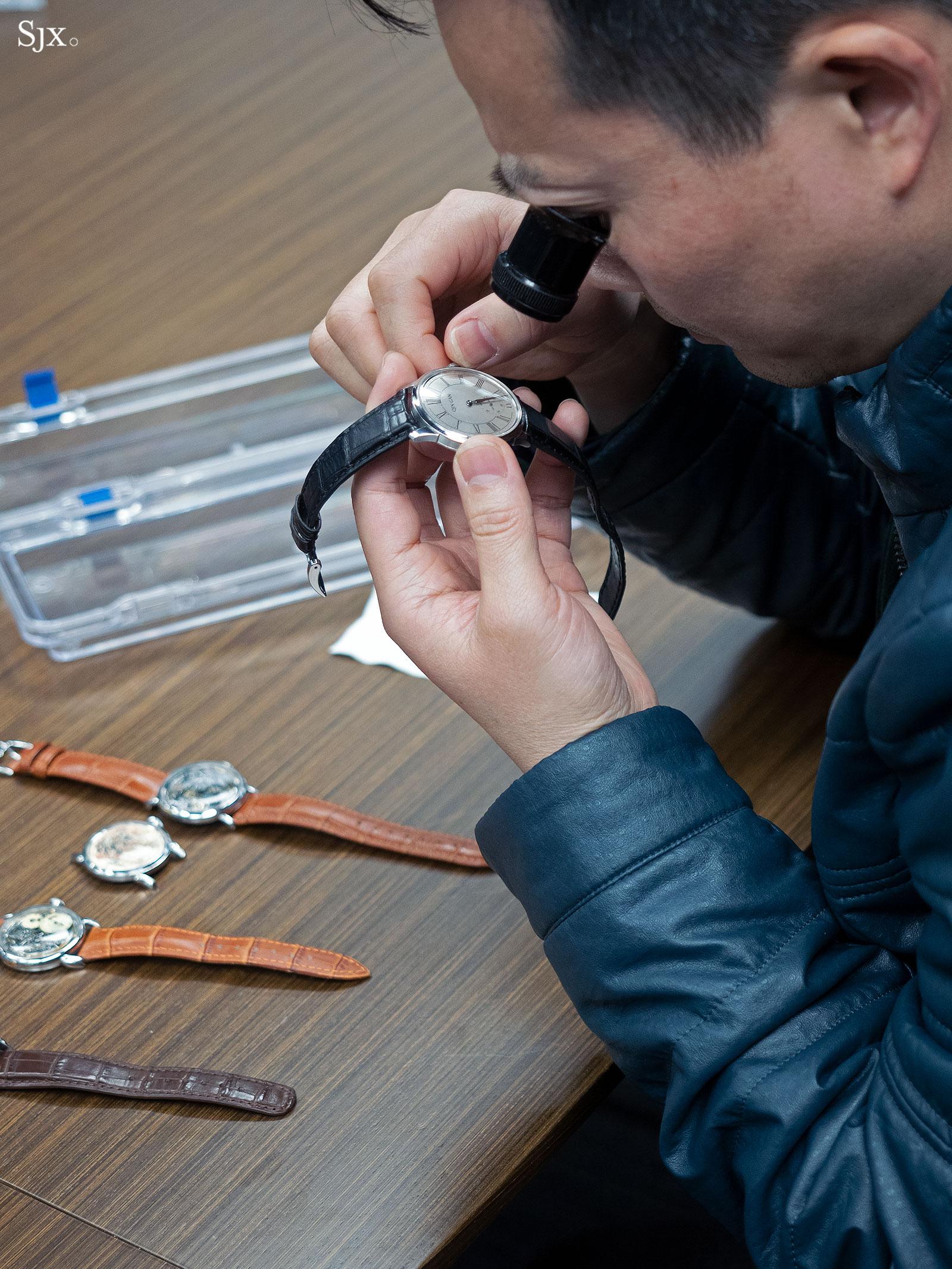Qin Gan chinese watchmaker 1