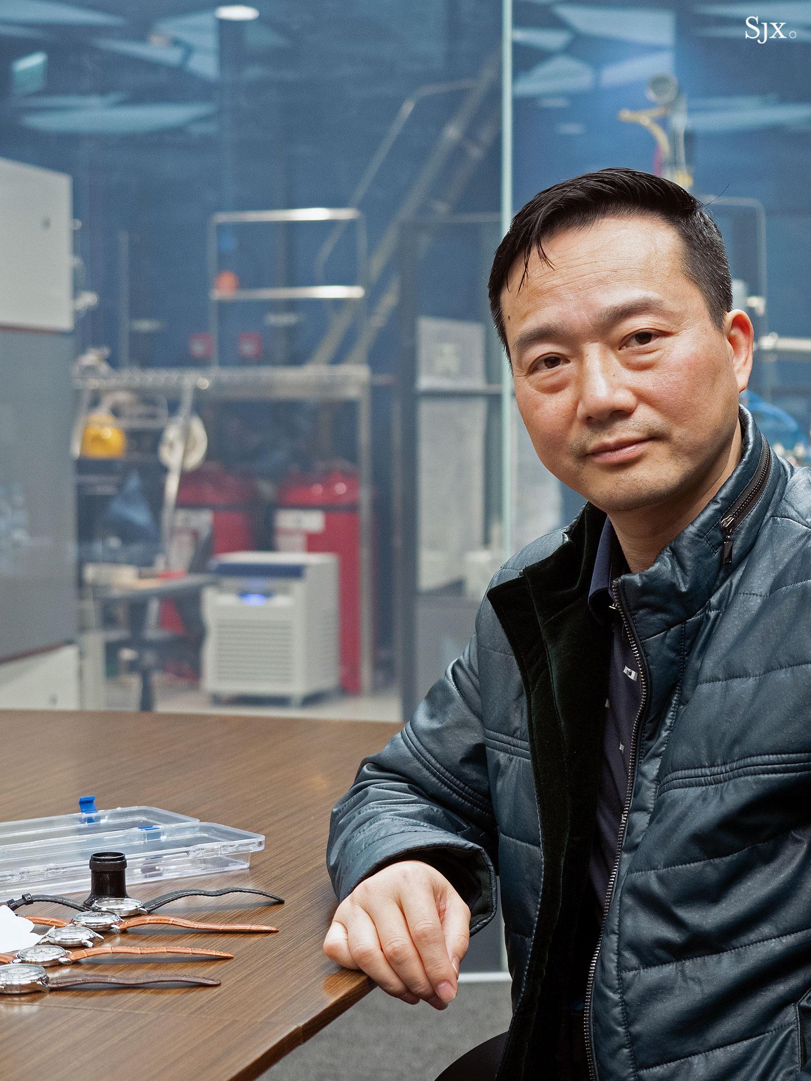 Qin Gan chinese watchmaker 2