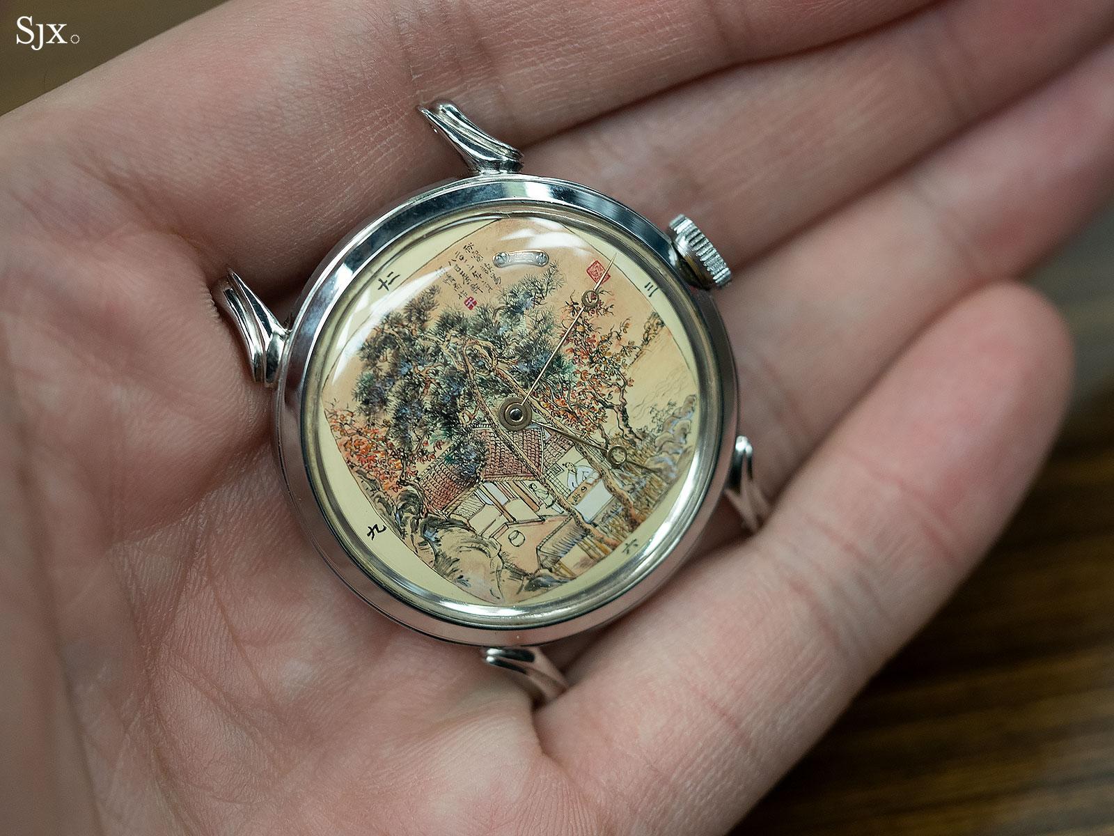 Qin Gan miniature painting watch 1