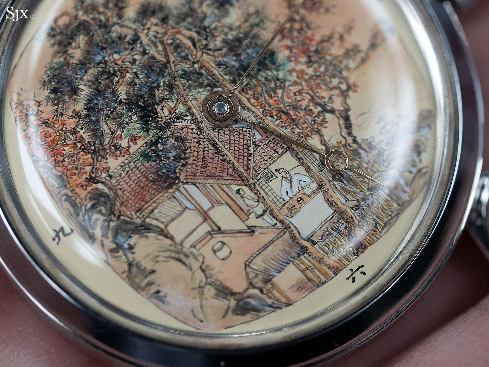 Qin Gan miniature painting watch 2