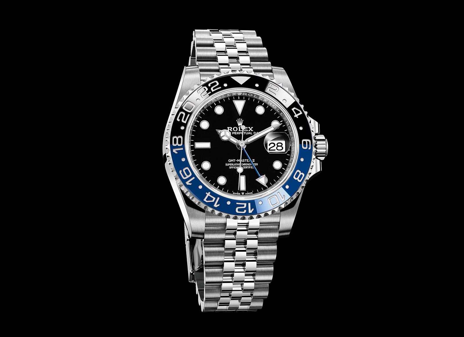 Rolex GMT-Master Batman jubilee 126710BLNR