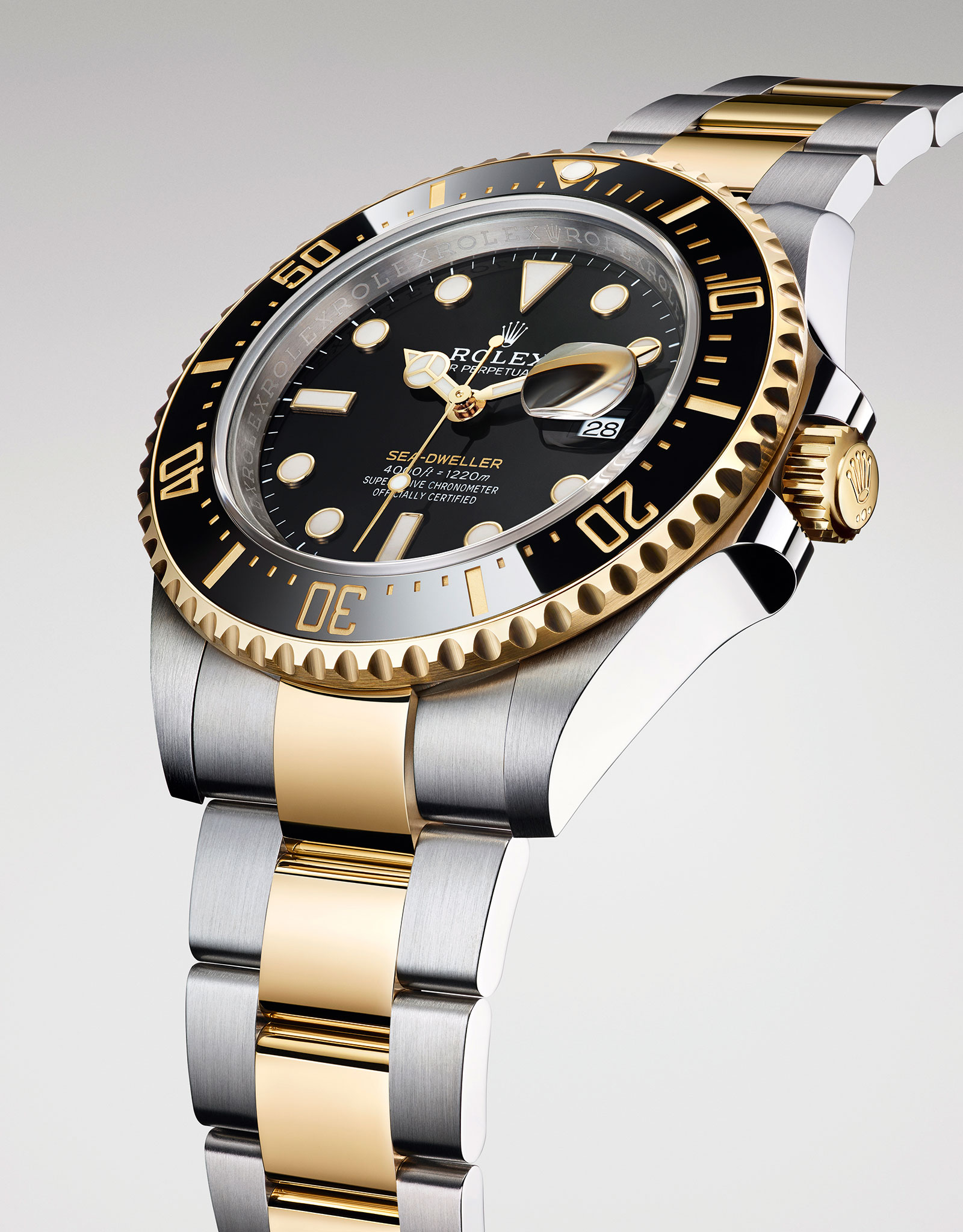 Rolex Sea Dweller two tone Rolesor 126603-2