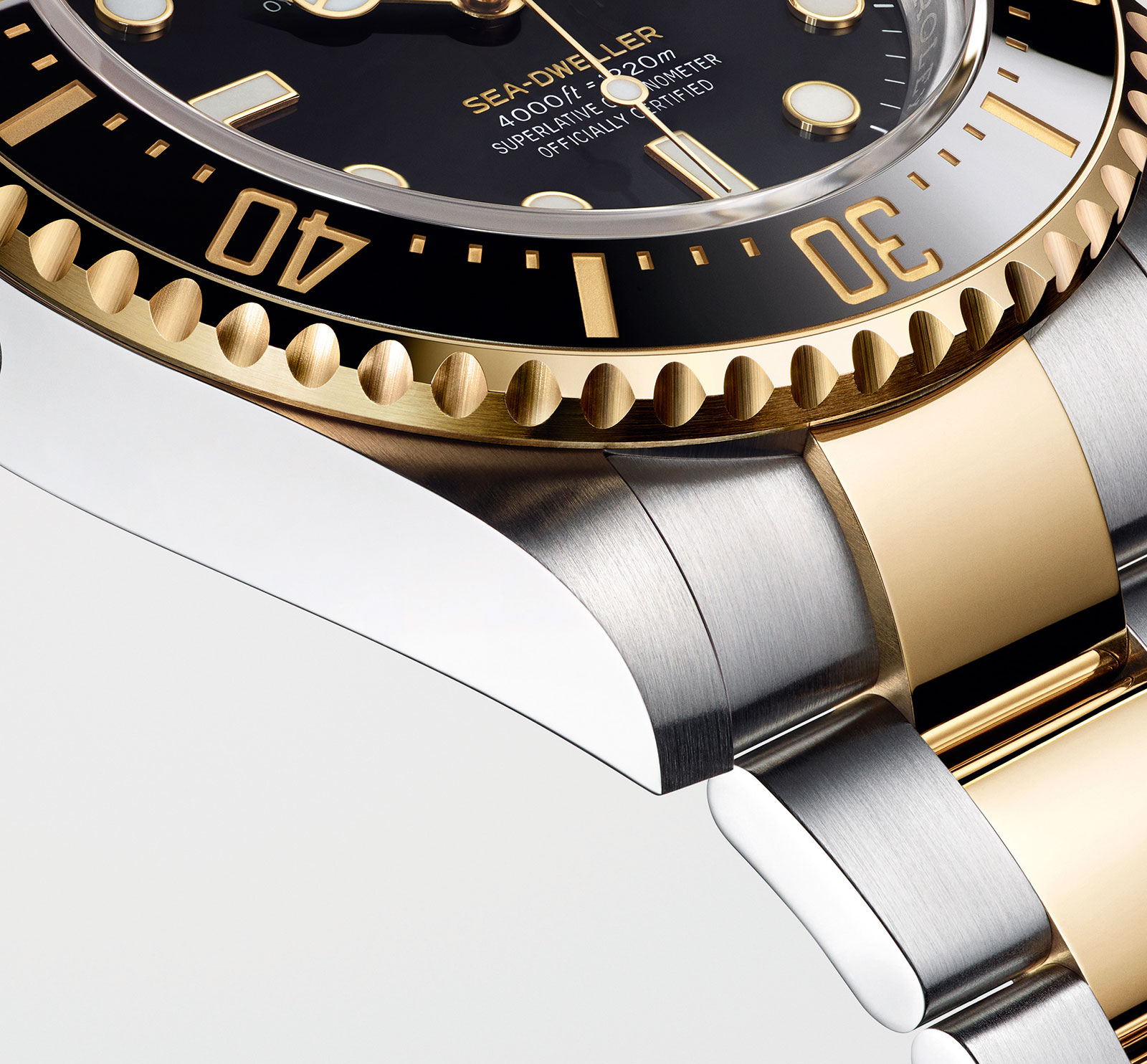 Rolex Sea Dweller two tone Rolesor 126603-3