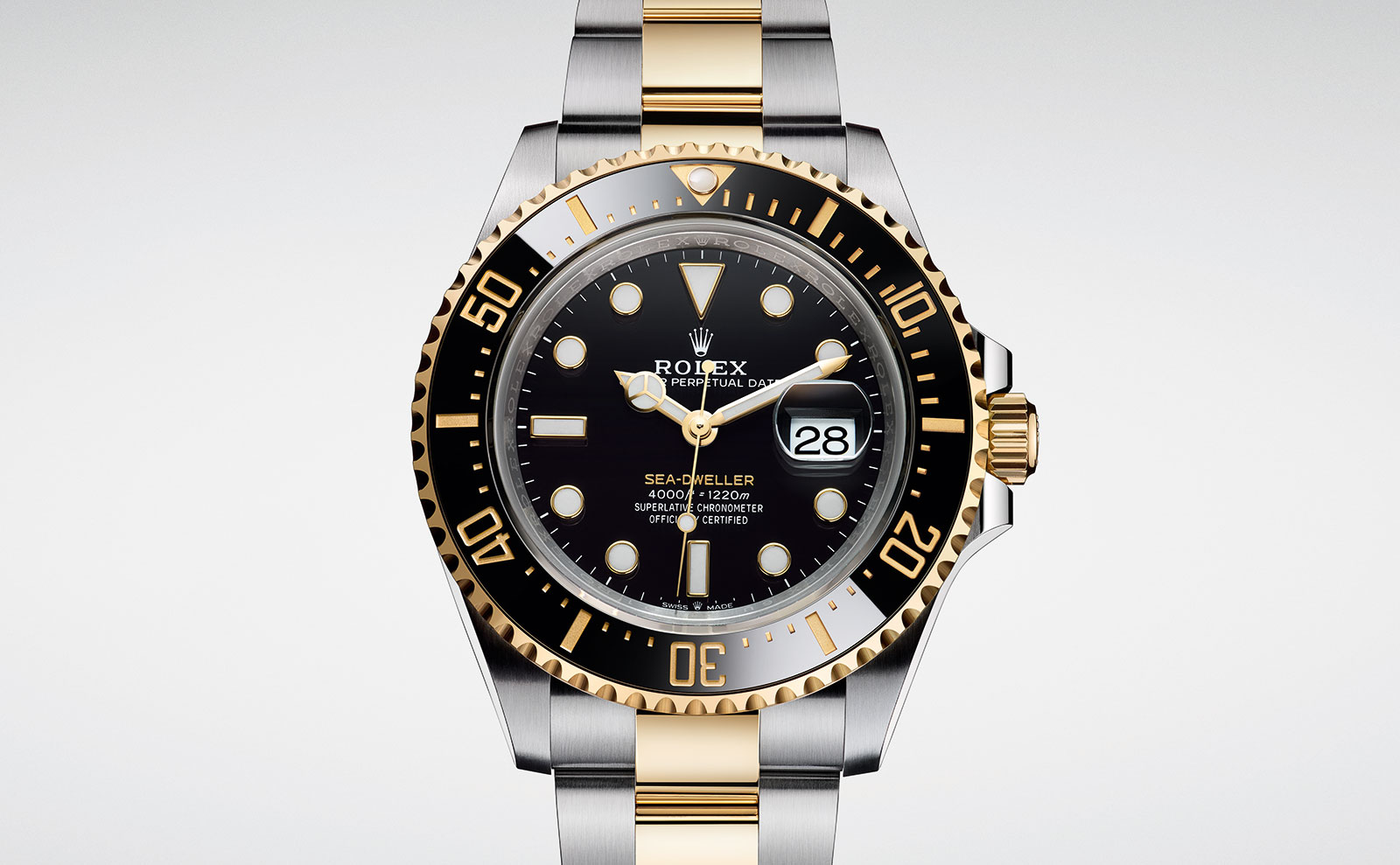 Rolex Sea Dweller two tone Rolesor 126603