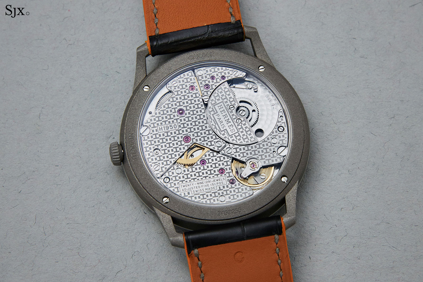 Slim Hermes Titane watch 3