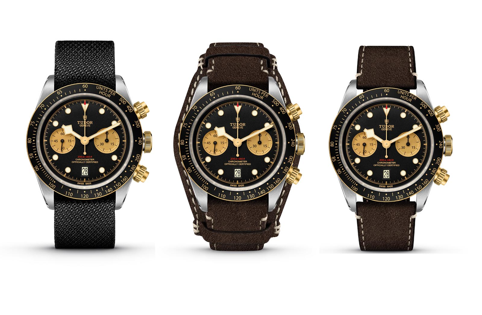 Tudor Black Bay Chronograph S&G 4