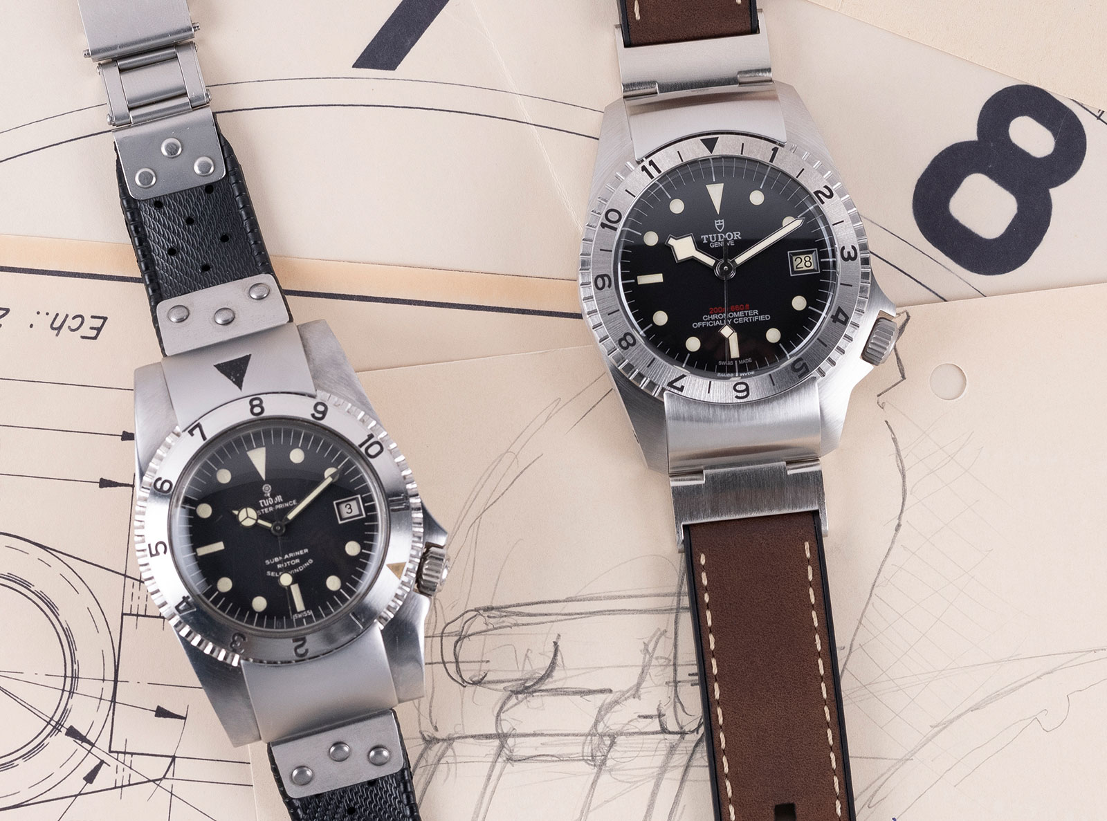 Tudor Black Bay P01 original prototype