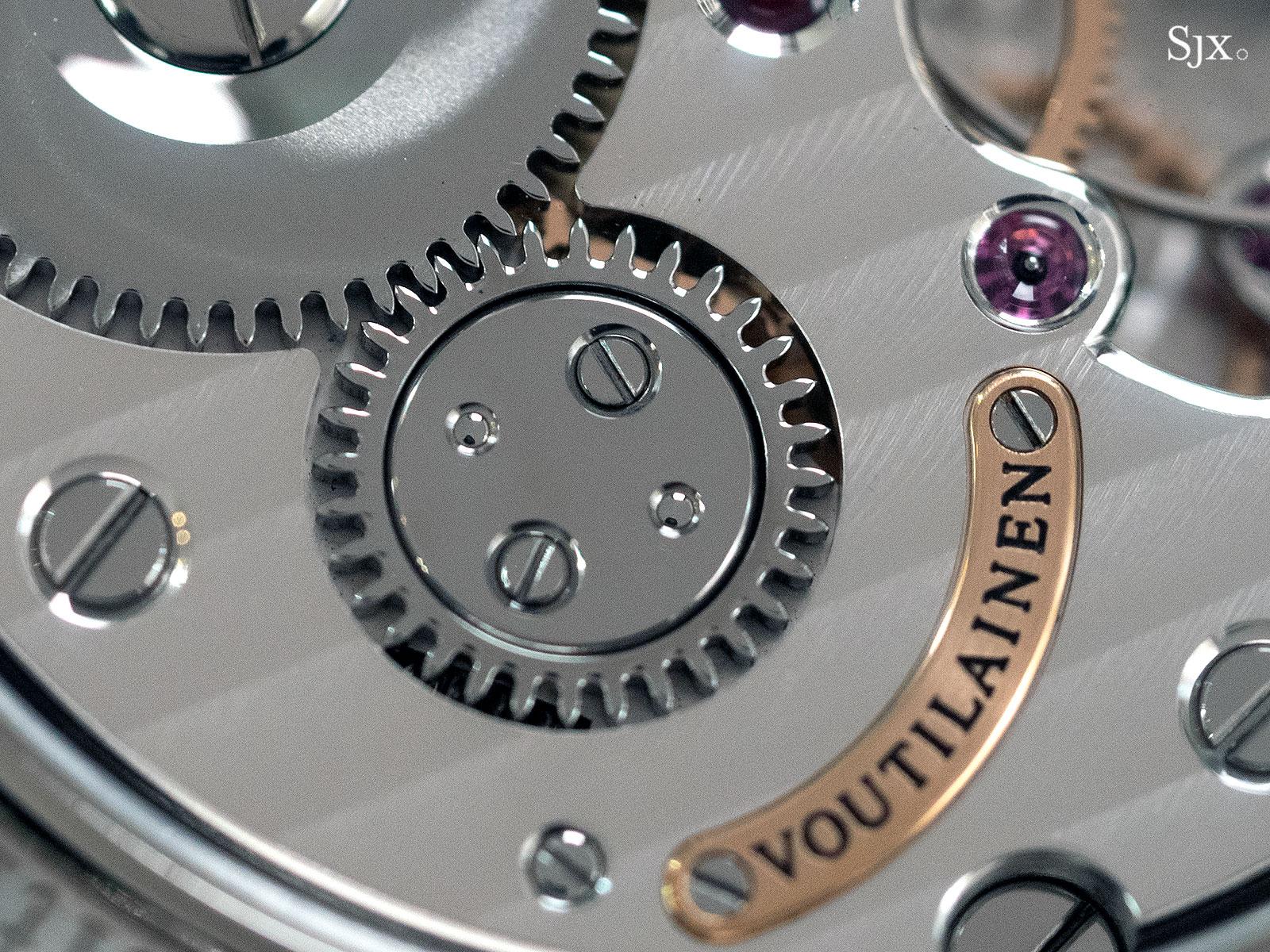 Voutilainen Vingt-8 titanium baton index 10