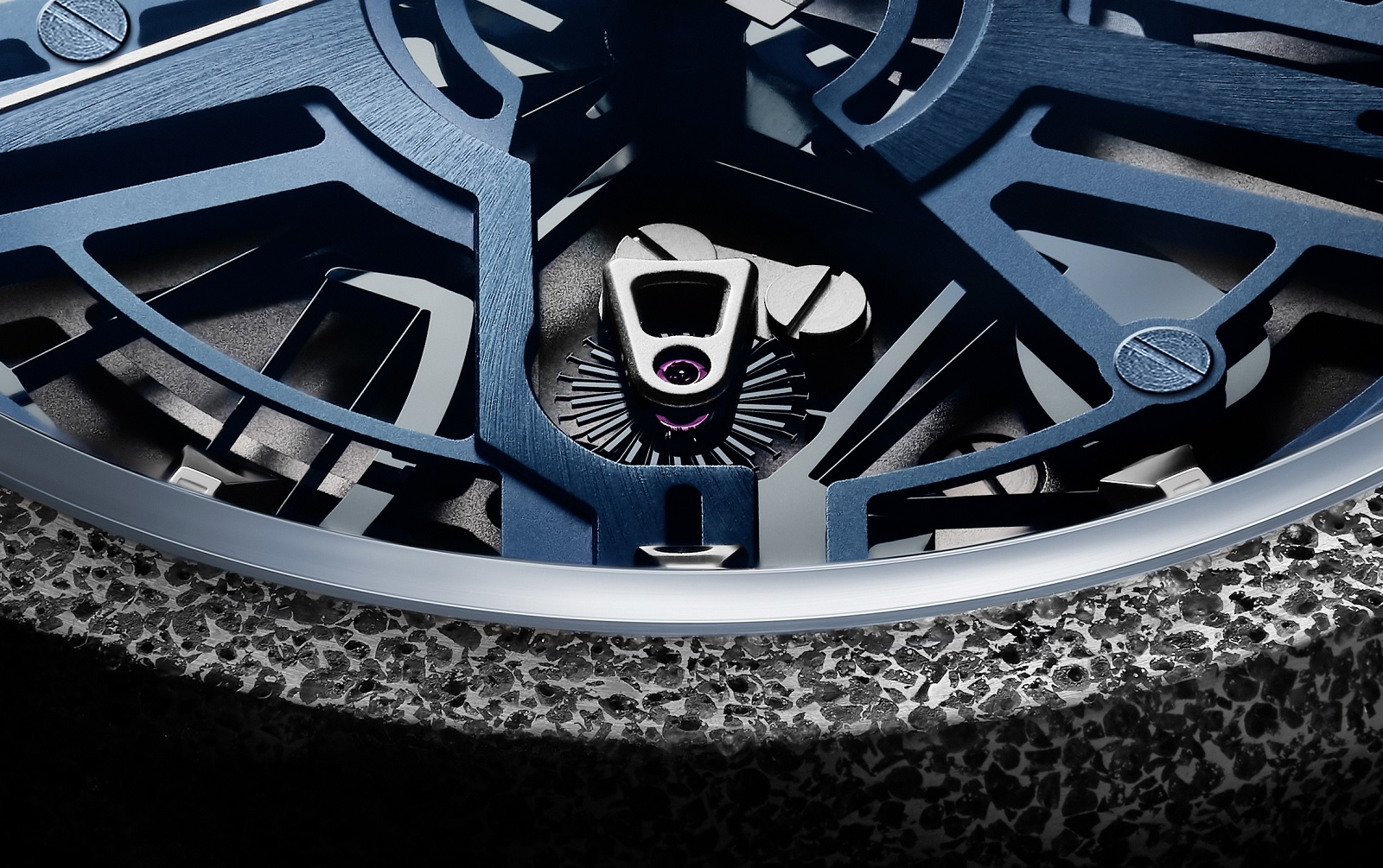 Zenith Defy Inventor Escape Wheel close up