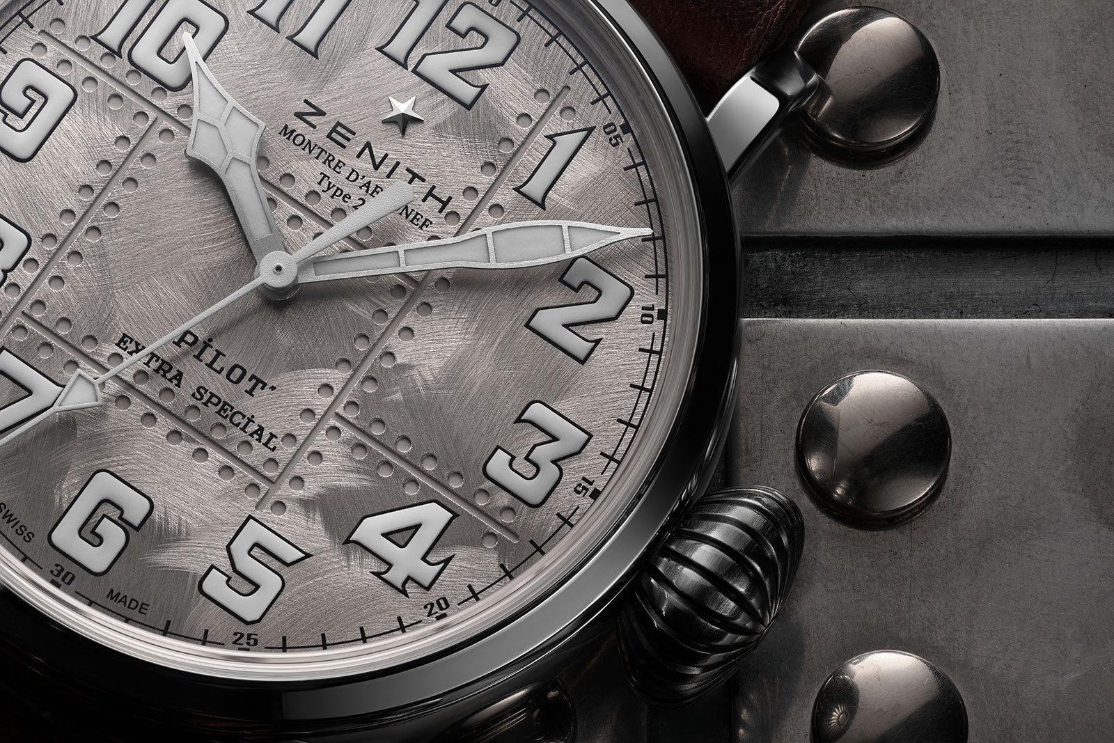 Zenith Pilot Type 20 Extra Special Silver 4