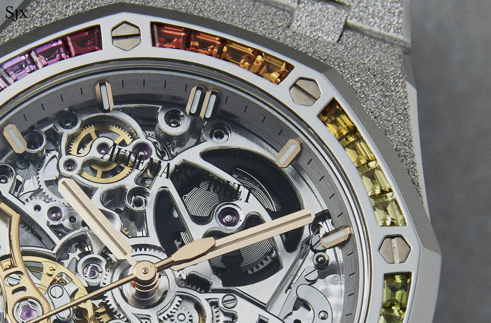 Audemars Piguet Frosted Gold Royal Oak Double Balance Wheel Openworked Rainbow 6
