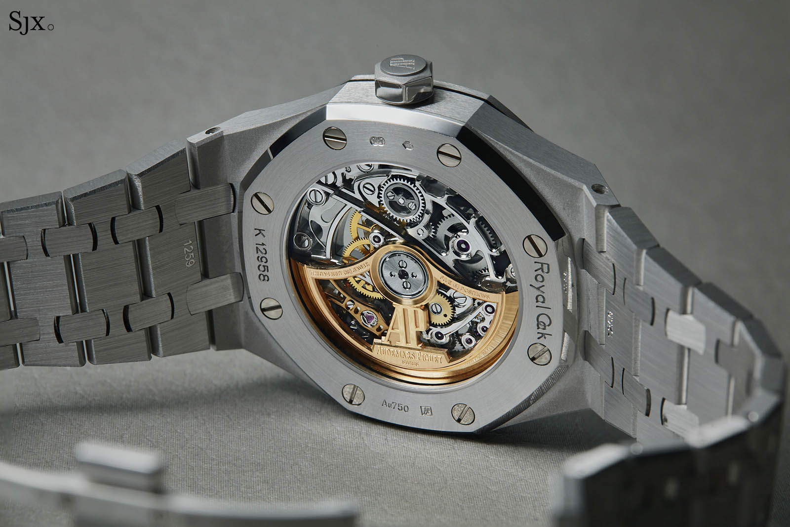 Audemars Piguet Frosted Gold Royal Oak Double Balance Wheel Openworked Rainbow 7