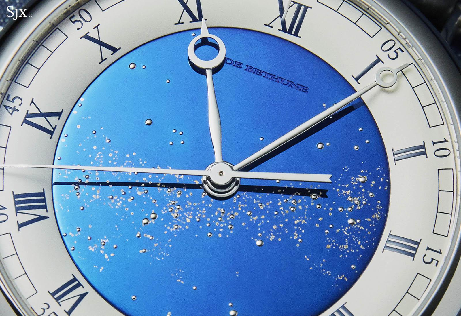De Bethune DB25 Starry Varius Chronomètre Tourbillon_