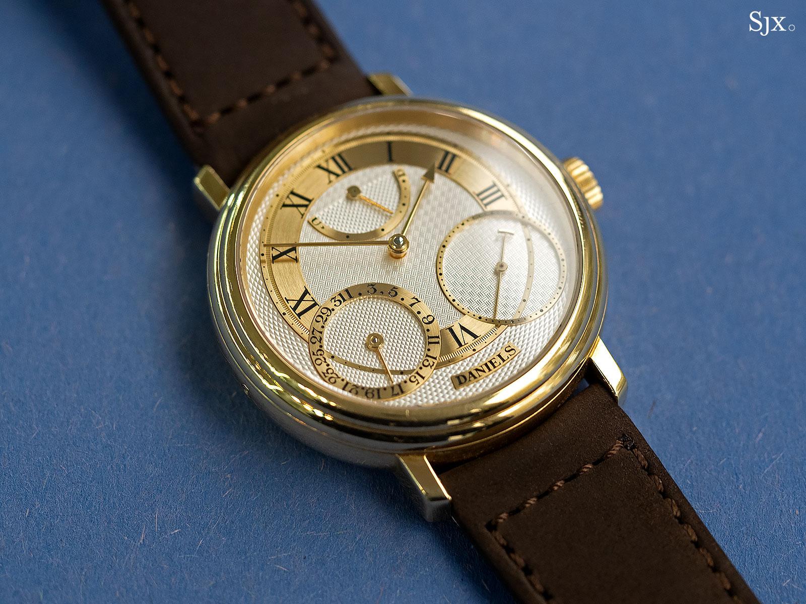 George Daniels Anniversary Watch yellow gold no24 1