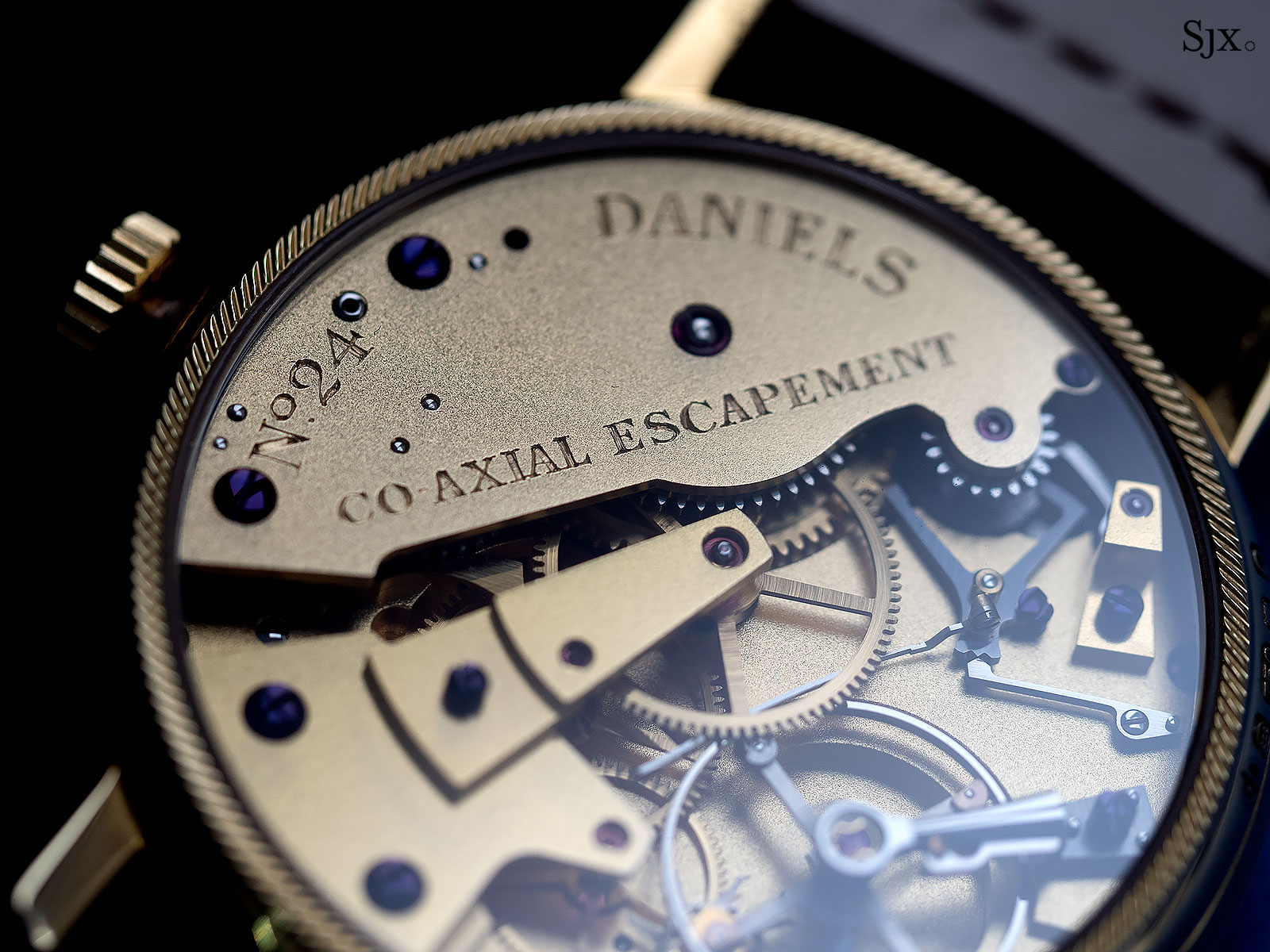 George Daniels Anniversary Watch yellow gold no24 10