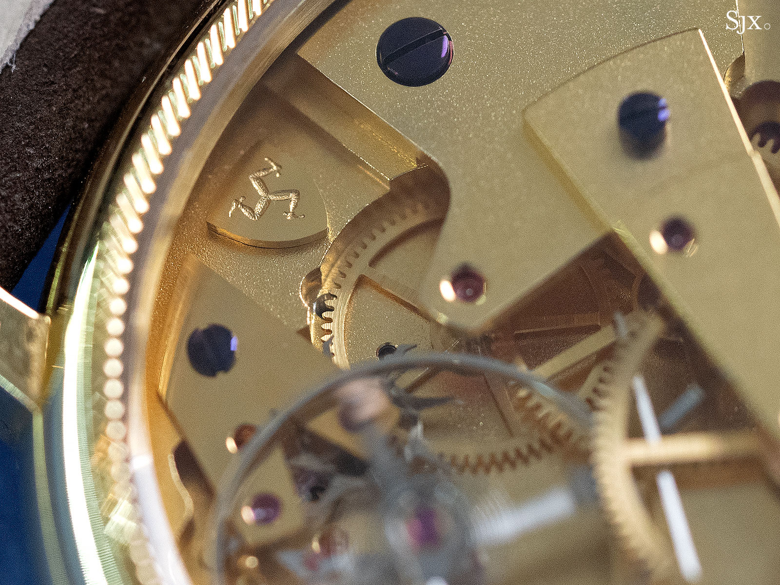 George Daniels Anniversary Watch yellow gold no24 13