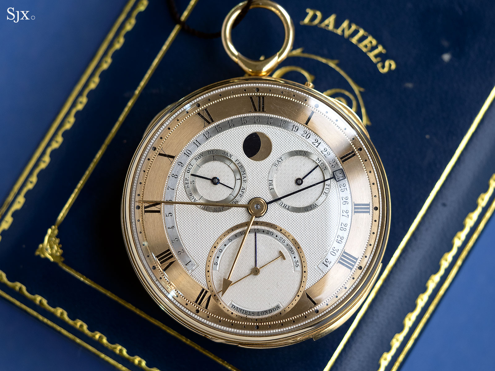 George Daniels Grand Complication pocket watch 1
