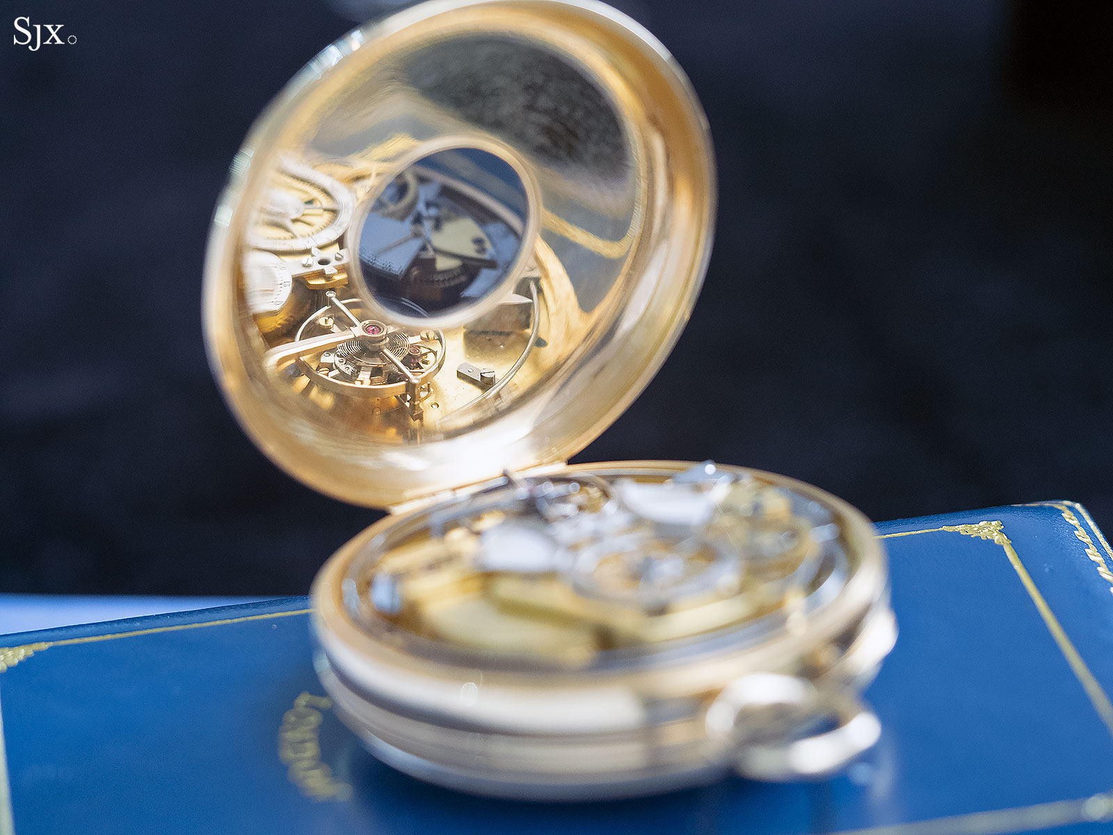 George Daniels Grand Complication pocket watch 10