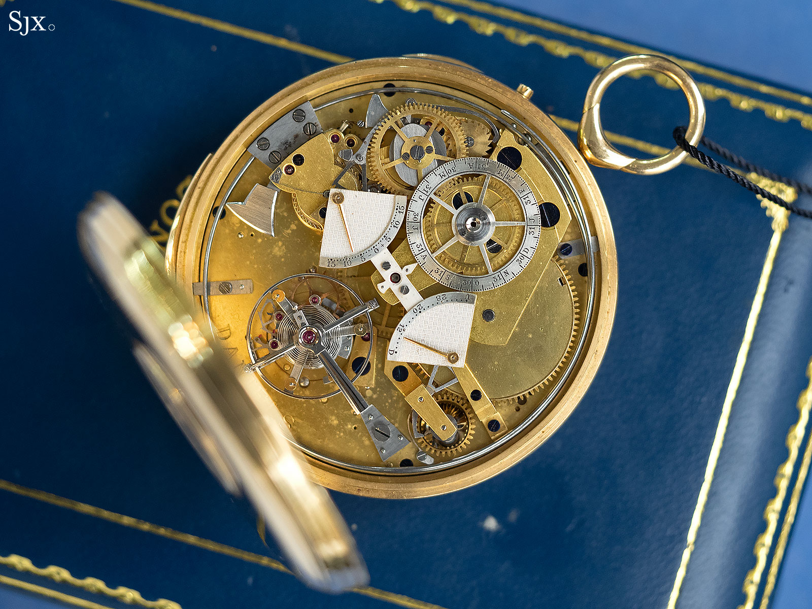 George Daniels Grand Complication pocket watch 11