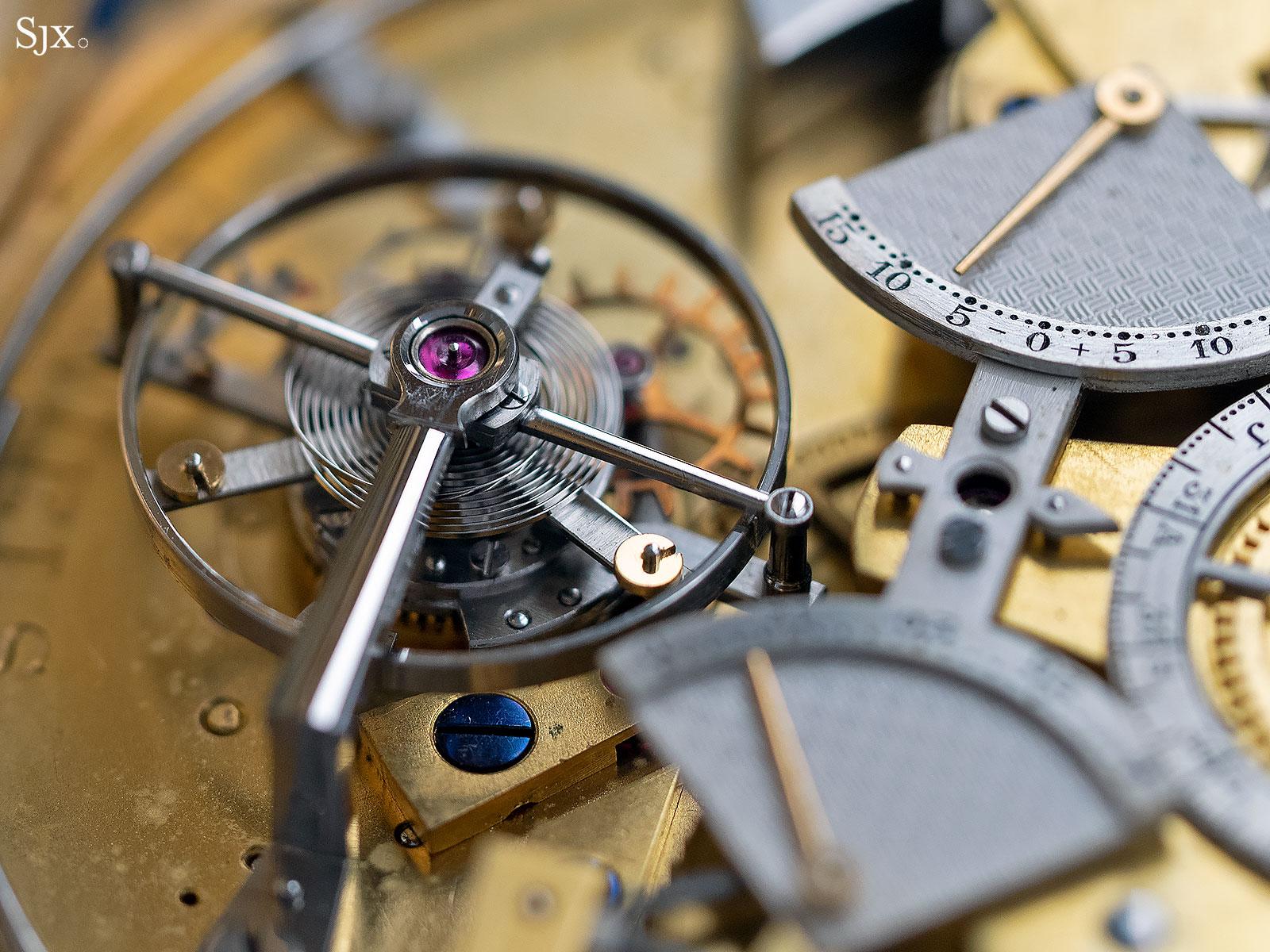 George Daniels Grand Complication pocket watch 13