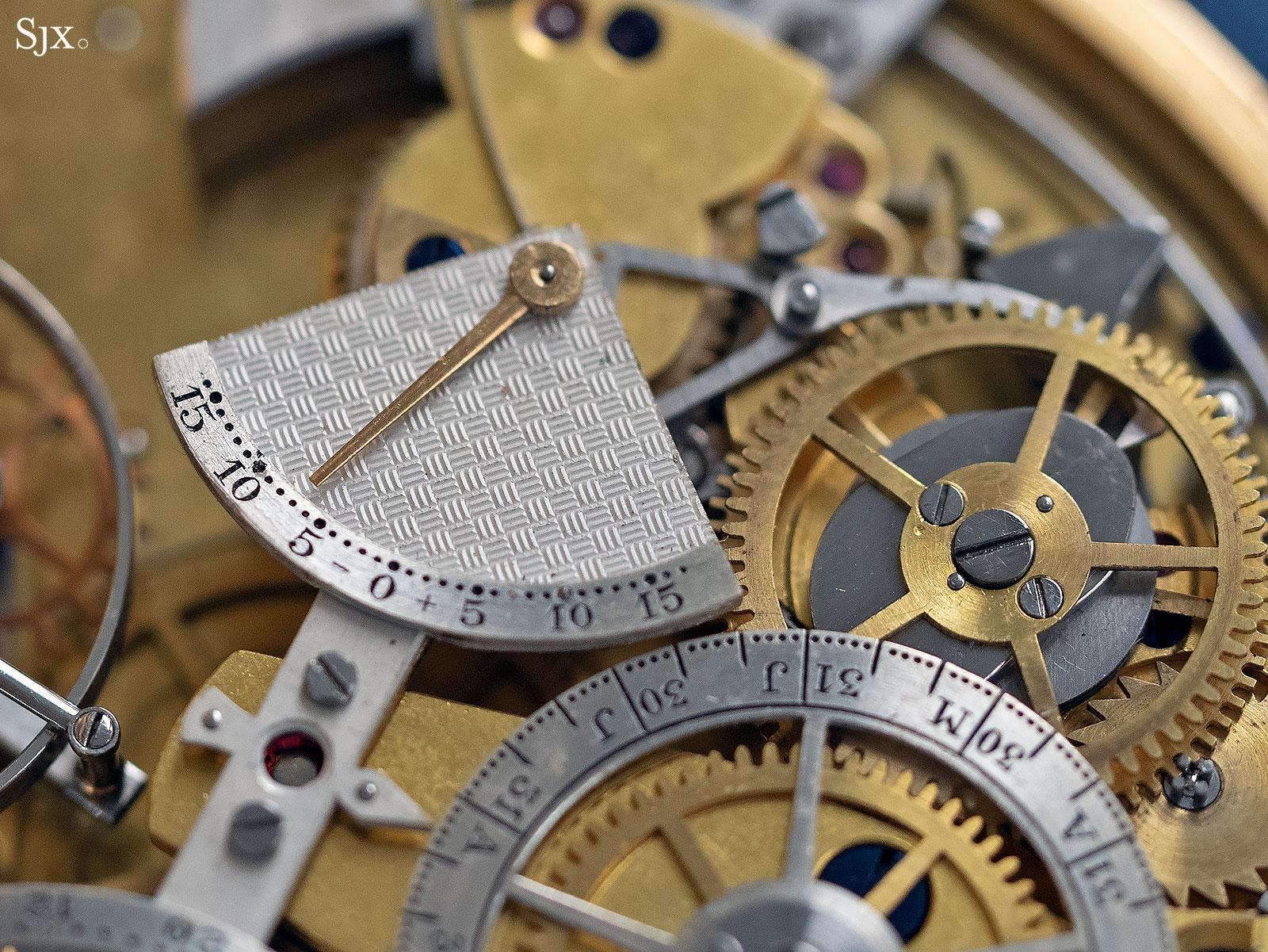 George Daniels Grand Complication pocket watch 14