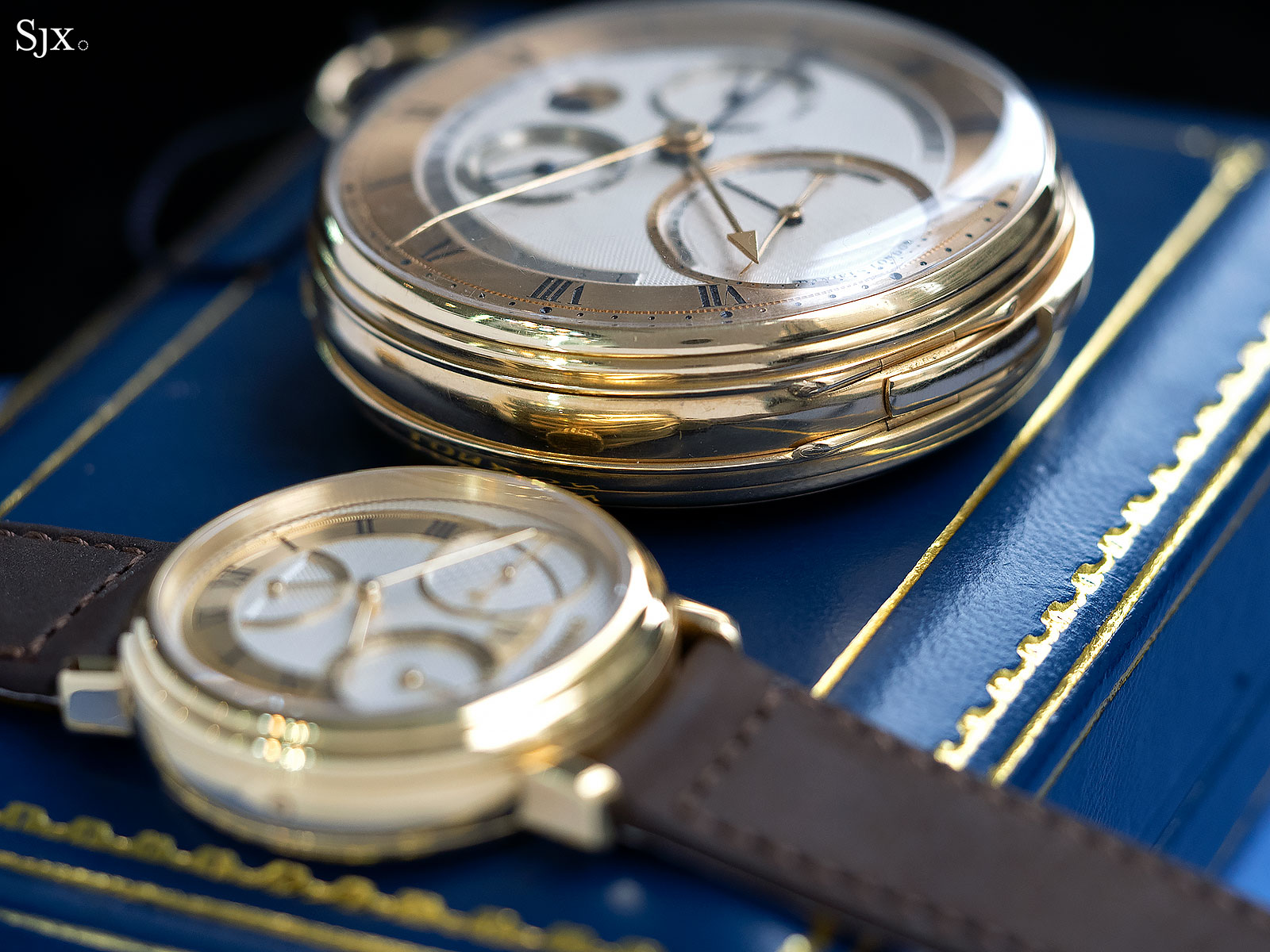 George Daniels Grand Complication pocket watch 2