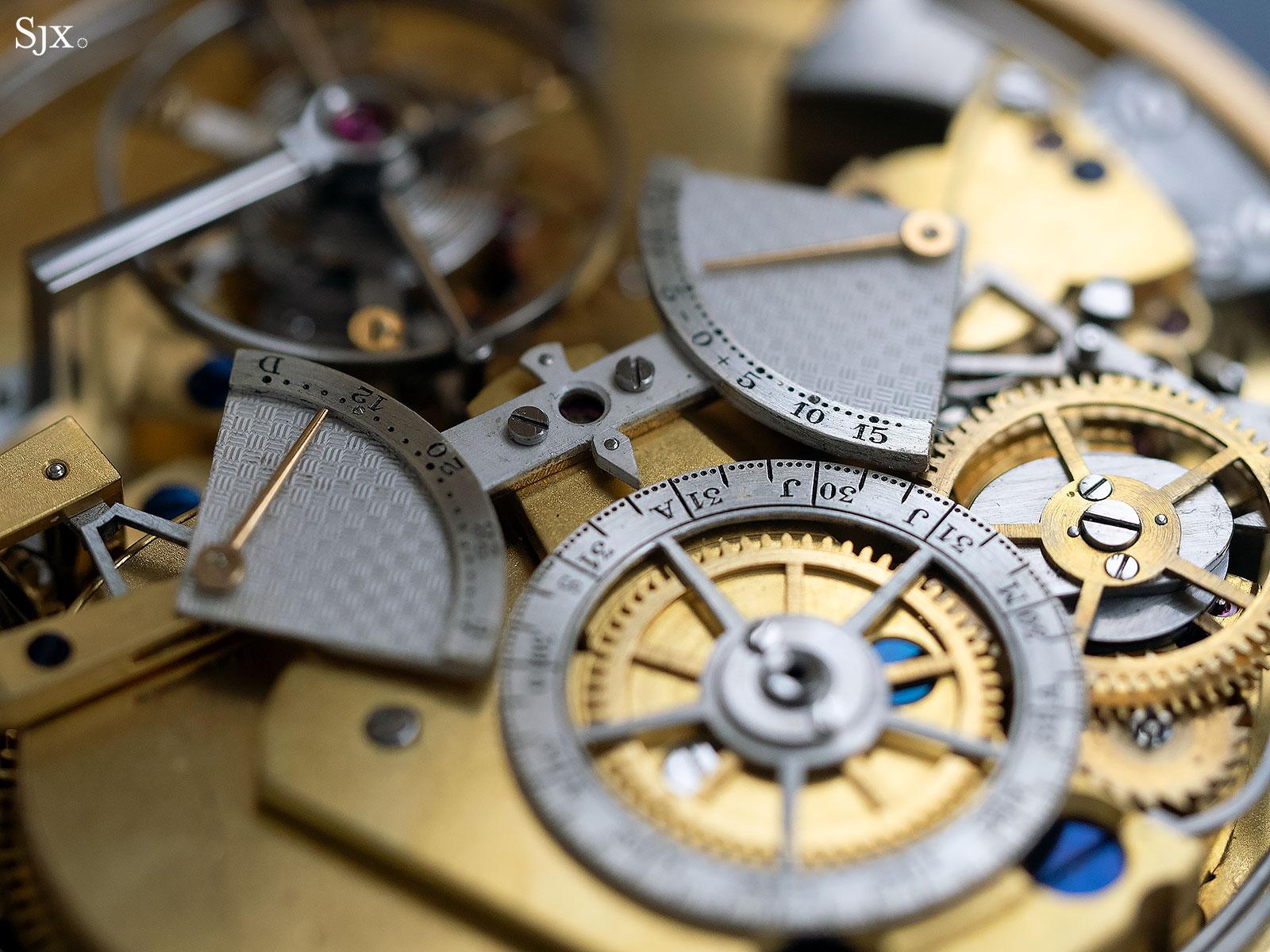 George Daniels Grand Complication pocket watch 22