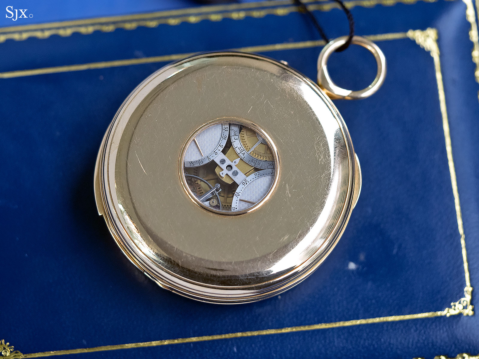 George Daniels Grand Complication pocket watch 23