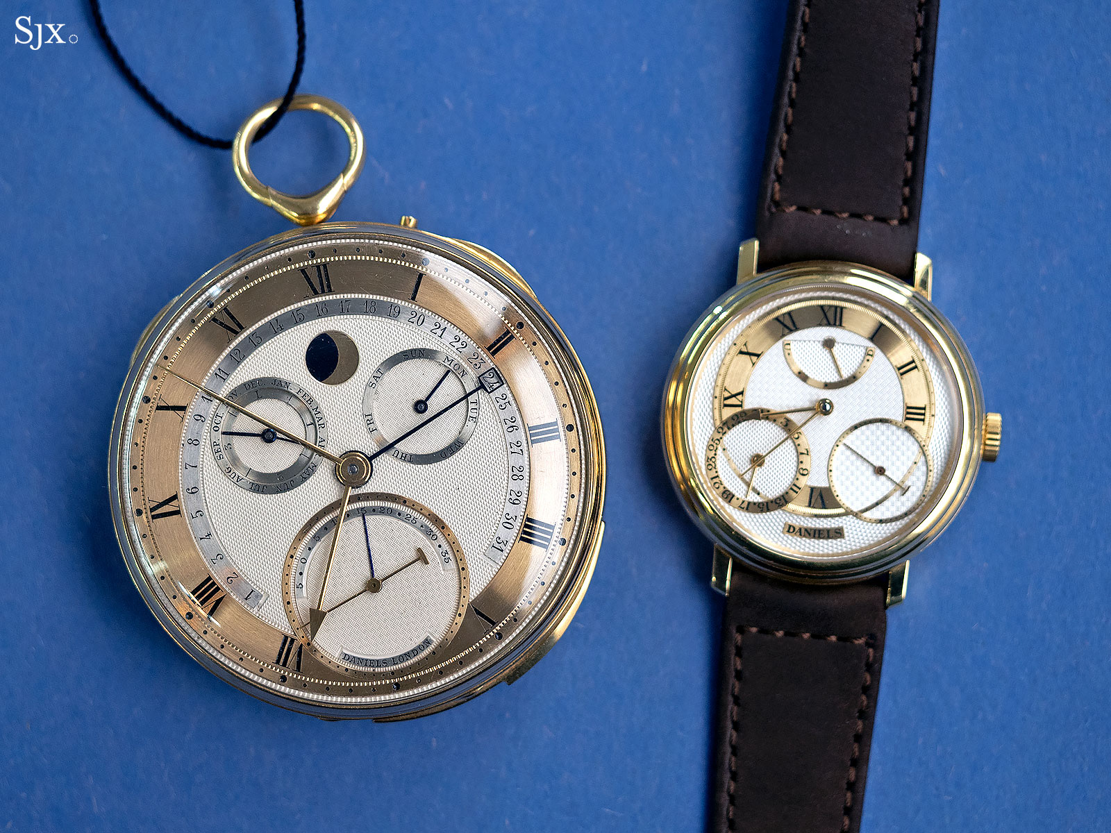 George Daniels Grand Complication pocket watch 27