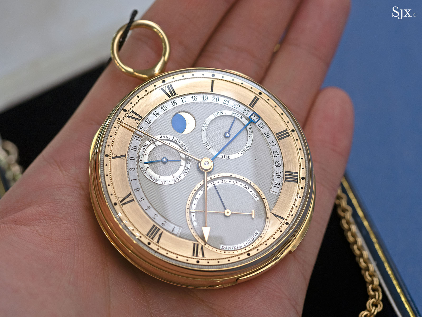 George Daniels Grand Complication pocket watch 28