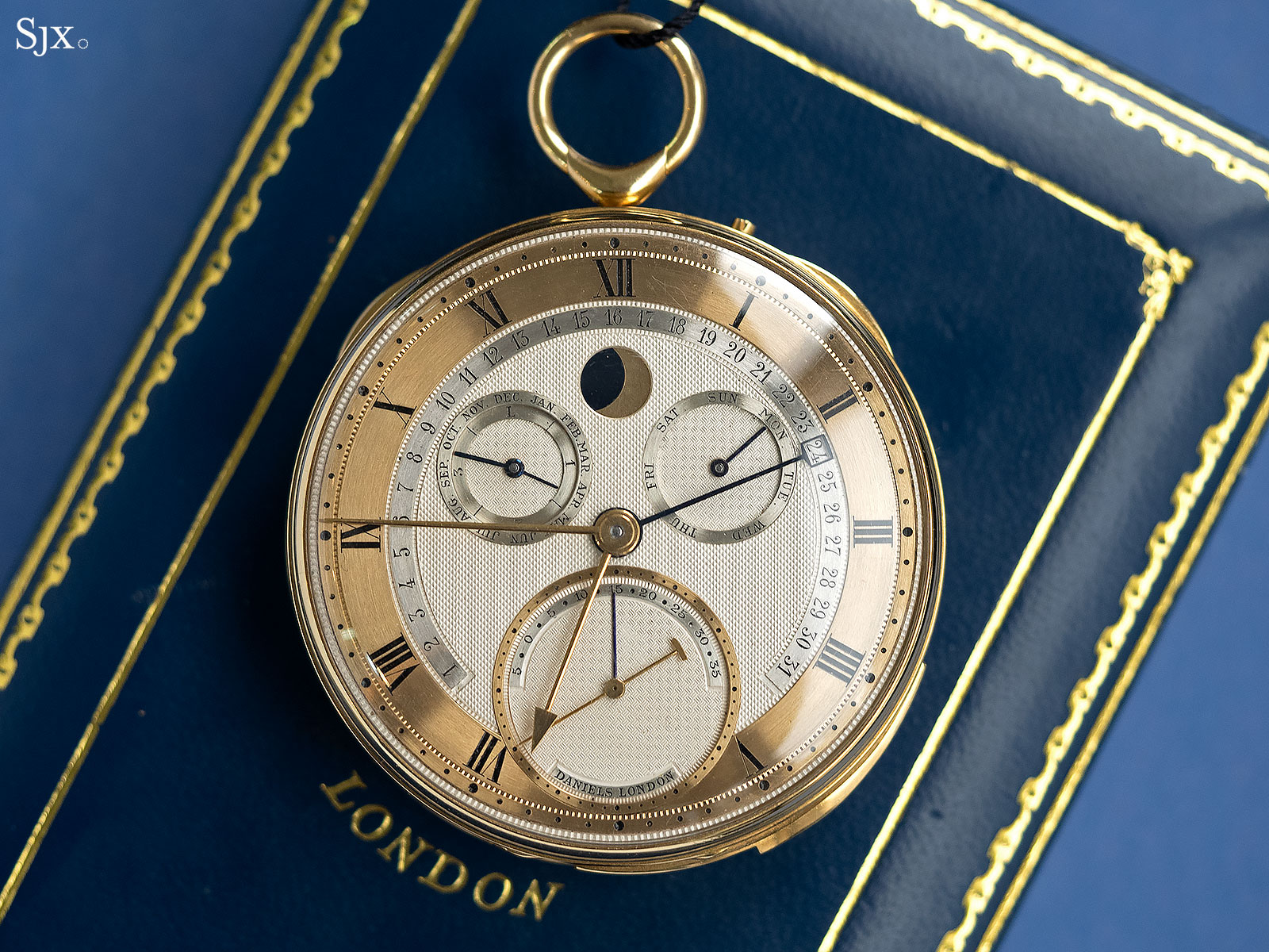 George Daniels Grand Complication pocket watch 3