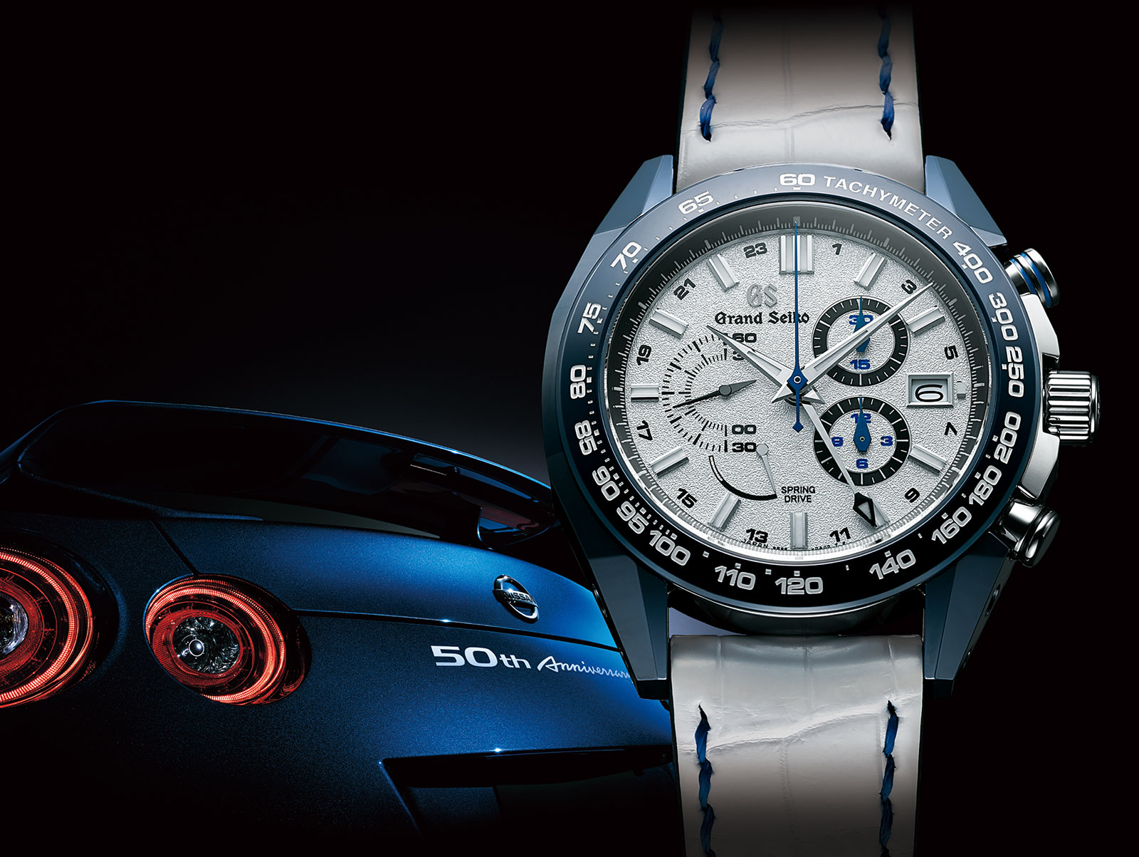 Grand Seiko Introduces the Nissan GT-R 50th Anniversary ...