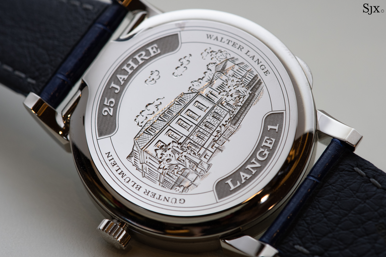 Lange 1 25th Anniversary case back 2