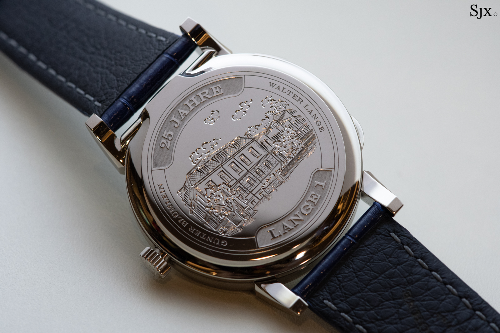 Lange 1 25th Anniversary case back