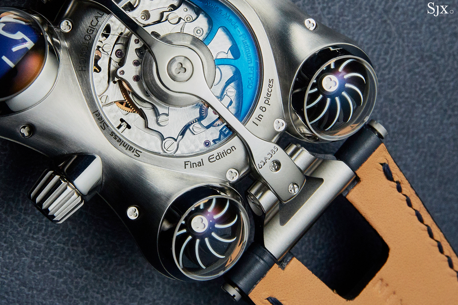 MB&F HM6 Final Edition back close up